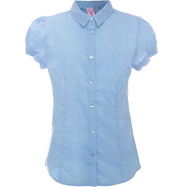 Блузка для девочки SELAБлузки и рубашки<br>Блузка - незаменимая вещь в гардеробе школьников. Эта модель отлично сидит на ребенке, она сделана из приятного на ощупь материала, мягкая и дышащая. Натуральный хлопок в составе ткани не вызывает аллергии и обеспечивает ребенку комфорт. Модель станет отличной базовой вещью, которая будет уместна в различных сочетаниях.<br>Одежда от бренда Sela (Села) - это качество по приемлемым ценам. Многие российские родители уже оценили преимущества продукции этой компании и всё чаще приобретают одежду и аксессуары Sela.<br><br>Дополнительная информация:<br><br>материал: 56% хлопок, 41% нейлон, 3% эластан;<br>рукава короткие;<br>застежки - пуговицы.<br><br>Блузку для девочки от бренда Sela можно купить в нашем интернет-магазине.<br><br>Ширина мм: 186<br>Глубина мм: 87<br>Высота мм: 198<br>Вес г: 197<br>Цвет: голубой<br>Возраст от месяцев: 60<br>Возраст до месяцев: 72<br>Пол: Женский<br>Возраст: Детский<br>Размер: 116,140,152,146,134,128,122<br>SKU: 4883470
