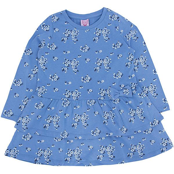 Платье для девочки SELAПлатья и сарафаны<br>Нежное и очень удобное платье для девочки.<br>Такое платье очень универсально, его можно одеть как в школу, так и на какой-нибудь праздник или пойти в нем гулять.<br>Ваша малышка будет с удовольствием его носить.<br><br>Дополнительная информация:<br><br>- Свободный крой.<br>- Длинный рукав, длина до колен, силуэт расширенный к низу.<br>- Цвет: деним.<br>- Состав: хлопок - 100%<br>- Бренд: SELA<br>- Коллекция: осень-зима 2016-2017<br><br>Купить платье для девочки от SELA можно в нашем магазине.<br><br>Ширина мм: 236<br>Глубина мм: 16<br>Высота мм: 184<br>Вес г: 177<br>Цвет: синий<br>Возраст от месяцев: 60<br>Возраст до месяцев: 72<br>Пол: Женский<br>Возраст: Детский<br>Размер: 116,92,110,104,98<br>SKU: 4883486