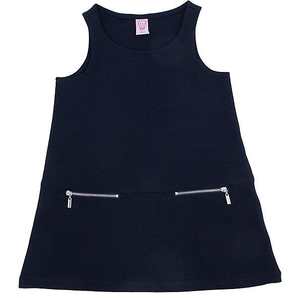 Платье для девочки SELAПлатья и сарафаны<br>Такое платье - удобная и универсальная вещь. Эта модель отлично сидит на ребенке, она смотрится стильно и нарядно. Приятная на ощупь ткань и качественная фурнитура обеспечивает ребенку комфорт. Модель станет отличной базовой вещью, которая будет уместна в различных сочетаниях.<br>Одежда от бренда Sela (Села) - это качество по приемлемым ценам. Многие российские родители уже оценили преимущества продукции этой компании и всё чаще приобретают одежду и аксессуары Sela.<br><br>Дополнительная информация:<br><br>выше колен;<br>материал: 50% вискоза, 45% ПЭ, 5% эластан;<br>без рукавов.<br><br>Платье для девочки от бренда Sela можно купить в нашем интернет-магазине.<br><br>Ширина мм: 236<br>Глубина мм: 16<br>Высота мм: 184<br>Вес г: 177<br>Цвет: синий<br>Возраст от месяцев: 132<br>Возраст до месяцев: 144<br>Пол: Женский<br>Возраст: Детский<br>Размер: 152,116,146,140,134,128,122<br>SKU: 4883504