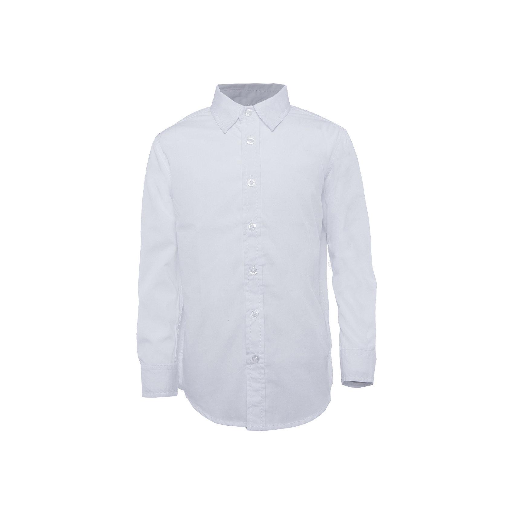 Рубашка для мальчика SELAРубашка - незаменимая вещь в гардеробе школьников. Эта модель отлично сидит на ребенке, она сделана из приятного на ощупь материала, мягкая и дышащая. Натуральный хлопок в составе ткани не вызывает аллергии и обеспечивает ребенку комфорт. Модель станет отличной базовой вещью, которая будет уместна в различных сочетаниях.<br>Одежда от бренда Sela (Села) - это качество по приемлемым ценам. Многие российские родители уже оценили преимущества продукции этой компании и всё чаще приобретают одежду и аксессуары Sela.<br><br>Дополнительная информация:<br><br>материал: 65% хлопок, 35% ПЭ;<br>рукава длинные;<br>застежки - пуговицы.<br><br>Рубашку для мальчика от бренда Sela можно купить в нашем интернет-магазине.<br><br>Ширина мм: 174<br>Глубина мм: 10<br>Высота мм: 169<br>Вес г: 157<br>Цвет: белый<br>Возраст от месяцев: 108<br>Возраст до месяцев: 120<br>Пол: Мужской<br>Возраст: Детский<br>Размер: 140,170,116,122,128,134,146,152,158,164<br>SKU: 4883522