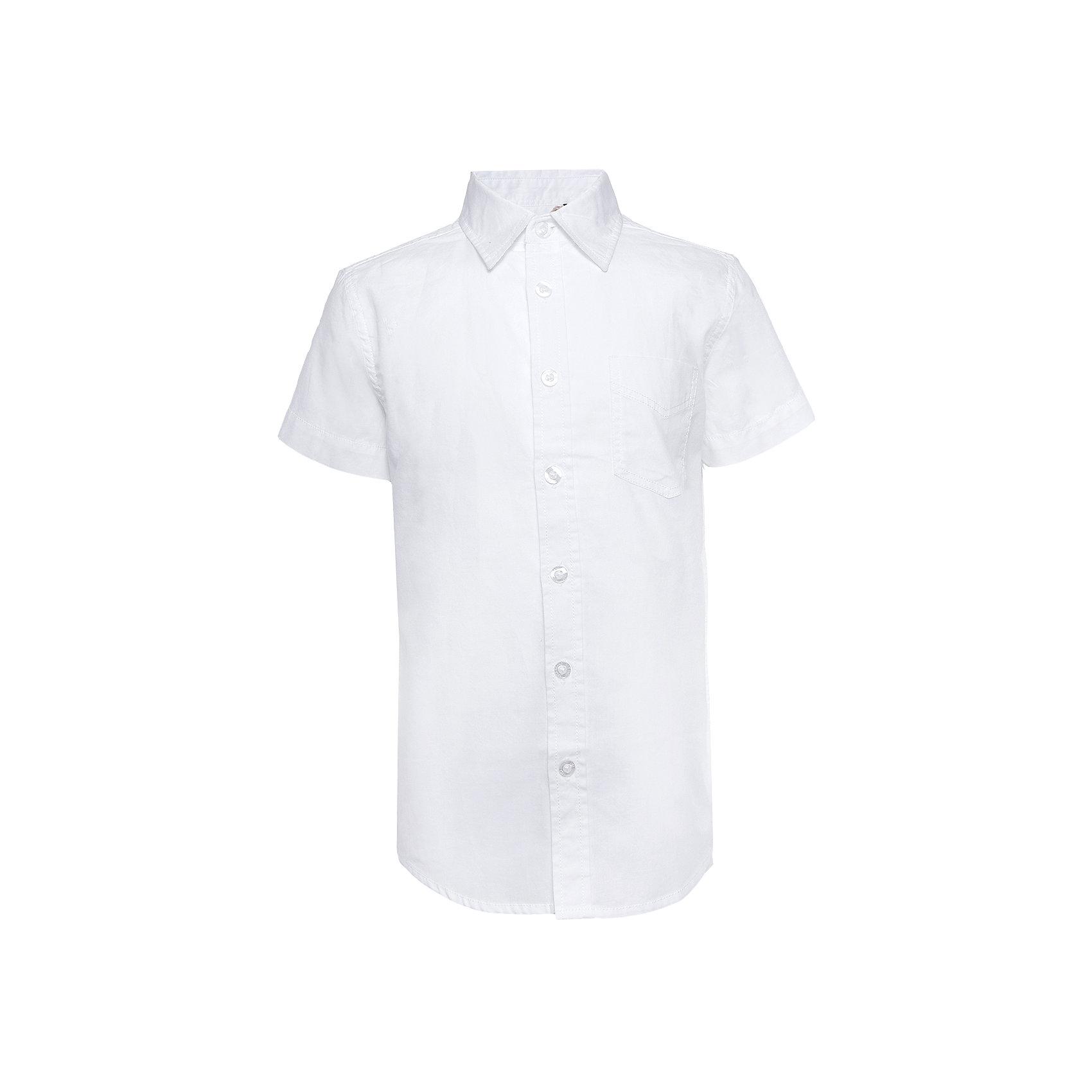 Рубашка для мальчика SELAБлузки и рубашки<br>Рубашка - незаменимая вещь в гардеробе школьников. Эта модель отлично сидит на ребенке, она сделана из приятного на ощупь материала, мягкая и дышащая. Натуральный хлопок в составе ткани не вызывает аллергии и обеспечивает ребенку комфорт. Модель станет отличной базовой вещью, которая будет уместна в различных сочетаниях.<br>Одежда от бренда Sela (Села) - это качество по приемлемым ценам. Многие российские родители уже оценили преимущества продукции этой компании и всё чаще приобретают одежду и аксессуары Sela.<br><br>Дополнительная информация:<br><br>материал: 100 % хлопок;<br>рукава короткие;<br>застежки - пуговицы.<br><br>Рубашку для мальчика от бренда Sela можно купить в нашем интернет-магазине.<br><br>Ширина мм: 174<br>Глубина мм: 10<br>Высота мм: 169<br>Вес г: 157<br>Цвет: белый<br>Возраст от месяцев: 120<br>Возраст до месяцев: 132<br>Пол: Мужской<br>Возраст: Детский<br>Размер: 146,152,116,122,128,134,140<br>SKU: 4883541