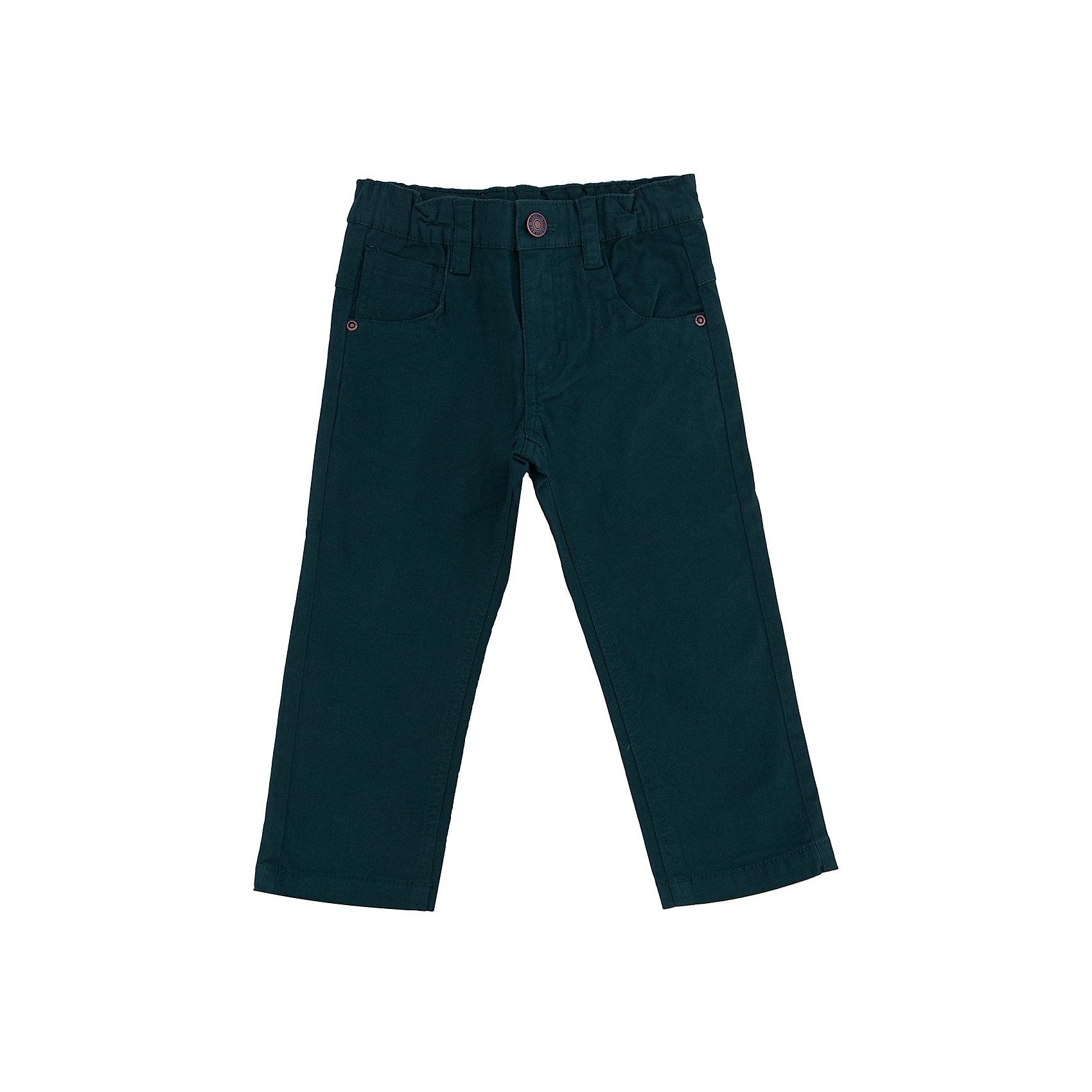 Брюки для мальчика SELAУниверсальные брюки - незаменимая вещь в детском гардеробе. Эта модель отлично сидит на ребенке, она сшита из плотного материала, натуральный хлопок не вызывает аллергии и обеспечивает ребенку комфорт. Модель станет отличной базовой вещью, которая будет уместна в различных сочетаниях.<br>Одежда от бренда Sela (Села) - это качество по приемлемым ценам. Многие российские родители уже оценили преимущества продукции этой компании и всё чаще приобретают одежду и аксессуары Sela.<br><br>Дополнительная информация:<br><br>прямой силуэт;<br>материал: 98% хлопок, 2% эластан;<br>плотный материал.<br><br>Брюки для мальчика от бренда Sela можно купить в нашем интернет-магазине.<br><br>Ширина мм: 215<br>Глубина мм: 88<br>Высота мм: 191<br>Вес г: 336<br>Цвет: зеленый<br>Возраст от месяцев: 18<br>Возраст до месяцев: 24<br>Пол: Мужской<br>Возраст: Детский<br>Размер: 92,116,110,104,98<br>SKU: 4883572