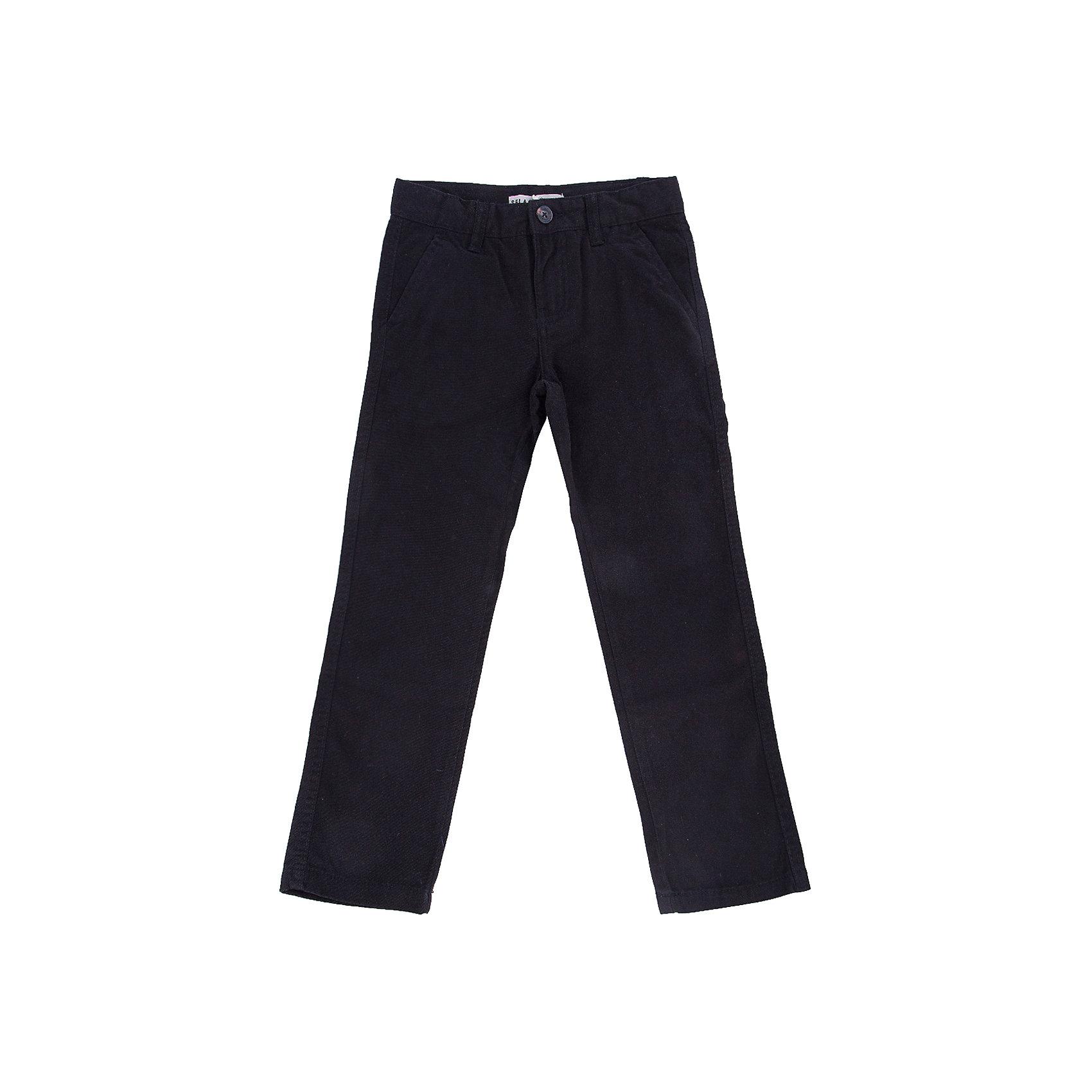 Брюки для мальчика SELAБрюки<br>Классические брюки - незаменимая вещь в детском гардеробе. Эта модель отлично сидит на ребенке, она сшита из плотного материала, натуральный хлопок не вызывает аллергии и обеспечивает ребенку комфорт. Модель станет отличной базовой вещью, которая будет уместна в различных сочетаниях.<br>Одежда от бренда Sela (Села) - это качество по приемлемым ценам. Многие российские родители уже оценили преимущества продукции этой компании и всё чаще приобретают одежду и аксессуары Sela.<br><br>Дополнительная информация:<br><br>прямой силуэт;<br>материал: 100% хлопок;<br>плотный материал.<br><br>Брюки для мальчика от бренда Sela можно купить в нашем интернет-магазине.<br><br>Ширина мм: 215<br>Глубина мм: 88<br>Высота мм: 191<br>Вес г: 336<br>Цвет: черный<br>Возраст от месяцев: 132<br>Возраст до месяцев: 144<br>Пол: Мужской<br>Возраст: Детский<br>Размер: 152,116,122,128,134,140,146<br>SKU: 4883592