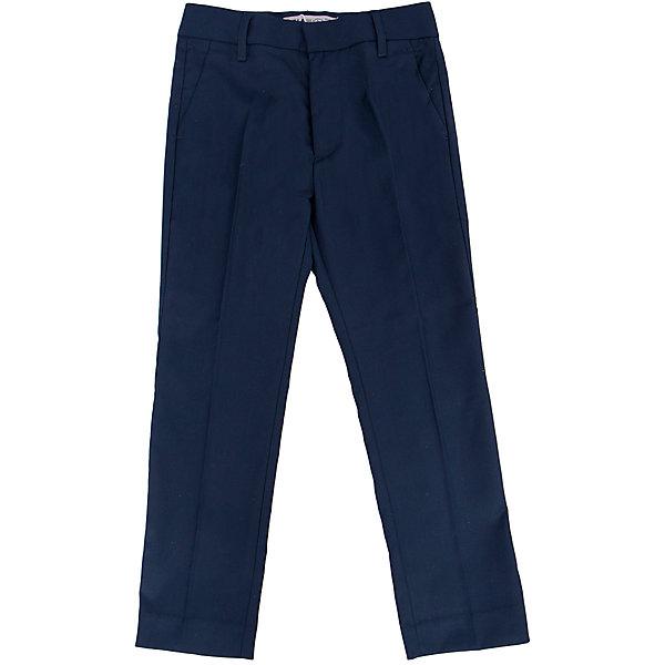 Брюки для мальчика SELAБрюки<br>Классические брюки - незаменимая вещь в детском гардеробе. Эта модель отлично сидит на ребенке, она сшита из плотного материала, натуральный хлопок не вызывает аллергии и обеспечивает ребенку комфорт. Модель станет отличной базовой вещью, которая будет уместна в различных сочетаниях.<br>Одежда от бренда Sela (Села) - это качество по приемлемым ценам. Многие российские родители уже оценили преимущества продукции этой компании и всё чаще приобретают одежду и аксессуары Sela.<br><br>Дополнительная информация:<br><br>прямой силуэт;<br>материал: 80% ПЭ, 20% вискоза;<br>плотный материал.<br><br>Брюки для мальчика от бренда Sela можно купить в нашем интернет-магазине.<br>Ширина мм: 215; Глубина мм: 88; Высота мм: 191; Вес г: 336; Цвет: синий; Возраст от месяцев: 120; Возраст до месяцев: 132; Пол: Мужской; Возраст: Детский; Размер: 146,116,170,164,158,152,140,134,128,122; SKU: 4883600;