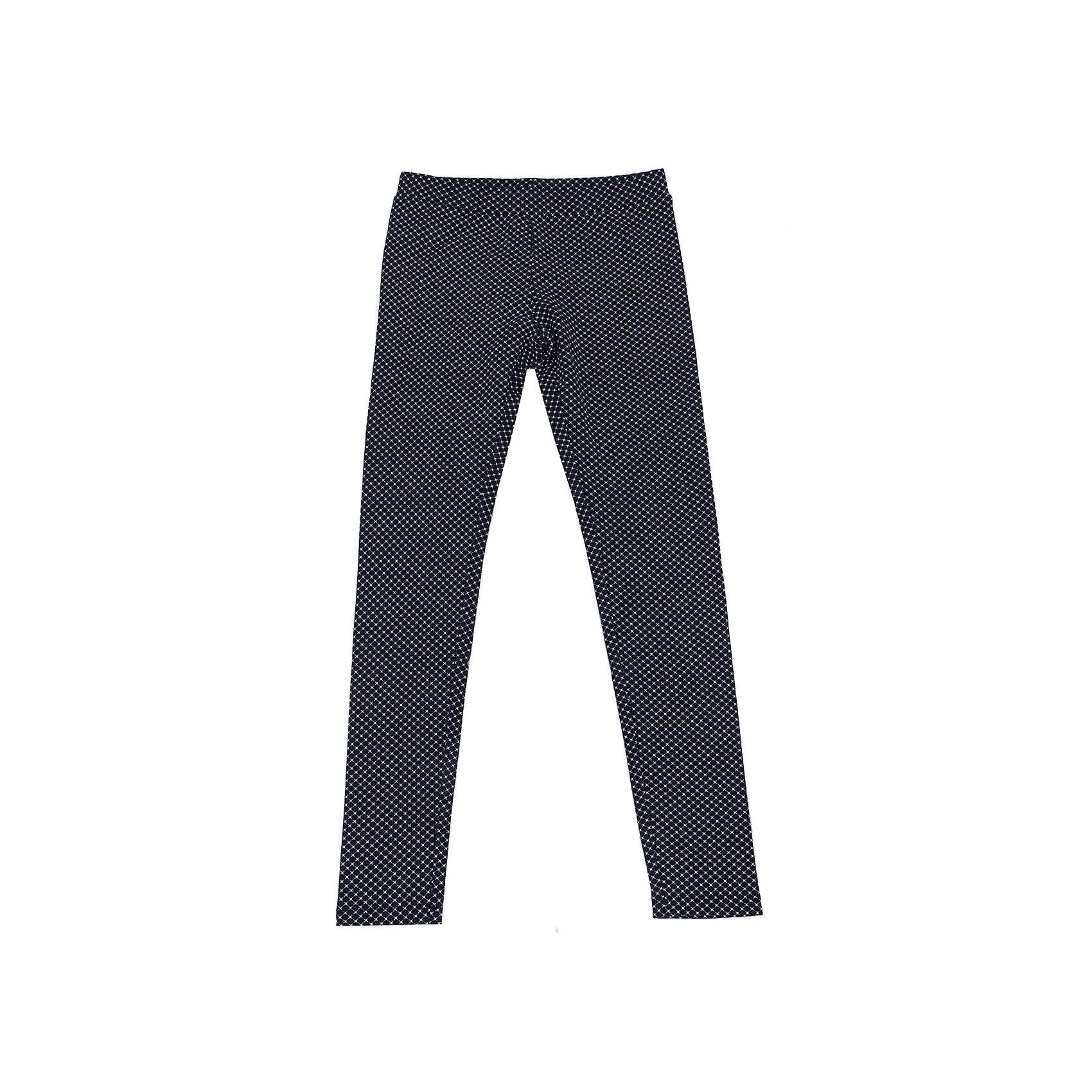 SELA Леггинсы для девочки SELA брюки для девочки btc цвет черный 12 017900 размер 40 158