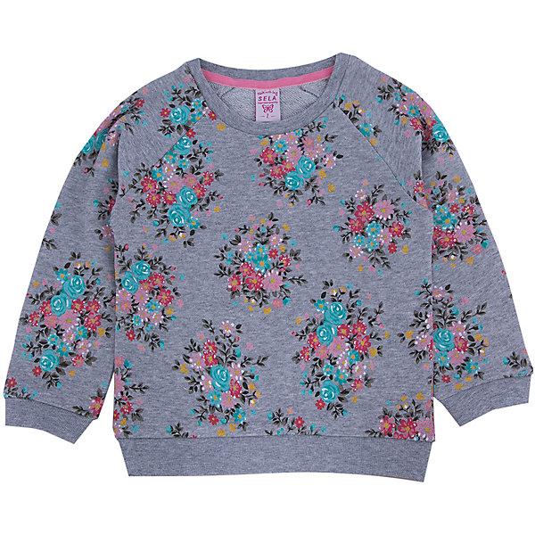 Толстовка для девочки SELAТолстовки<br>Модный джемпер - незаменимая вещь в прохладное время года. Эта модель отлично сидит на ребенке, она сделана из приятного на ощупь материала, мягкая и дышащая. Натуральный хлопок в составе ткани не вызывает аллергии и обеспечивает ребенку комфорт. Модель станет отличной базовой вещью, которая будет уместна в различных сочетаниях.<br>Одежда от бренда Sela (Села) - это качество по приемлемым ценам. Многие российские родители уже оценили преимущества продукции этой компании и всё чаще приобретают одежду и аксессуары Sela.<br><br>Дополнительная информация:<br><br>материал: 100% хлопок;<br>длинный рукав;<br>принт.<br><br>Джемпер для девочки от бренда Sela можно купить в нашем интернет-магазине.<br>Ширина мм: 190; Глубина мм: 74; Высота мм: 229; Вес г: 236; Цвет: серый; Возраст от месяцев: 18; Возраст до месяцев: 24; Пол: Женский; Возраст: Детский; Размер: 92,116,110,104,98; SKU: 4883695;
