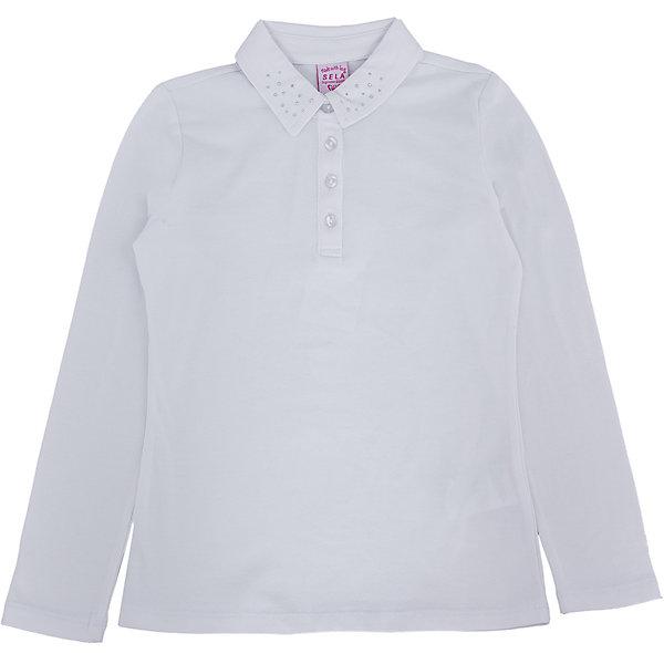 Блузка для девочки SELAБлузки и рубашки<br>Блузка для девочки из коллекции осень-зима 2016-2017 от известного бренда Sela(сэла). Модель имеет длинные рукава и полуприлегающий силуэт. Классическая светлая блузка - отличный вариант для важных мероприятий!<br>Особенности:<br>-длинные рукава<br>-полуприлегающий силуэт<br>Состав: 5% эластан, 95% хлопок<br>Блузку для девочек Sela(сэла) можно купить в нашем интернет-магазине.<br><br>Ширина мм: 186<br>Глубина мм: 87<br>Высота мм: 198<br>Вес г: 197<br>Цвет: белый<br>Возраст от месяцев: 168<br>Возраст до месяцев: 180<br>Пол: Женский<br>Возраст: Детский<br>Размер: 170,152,164,158<br>SKU: 4883842