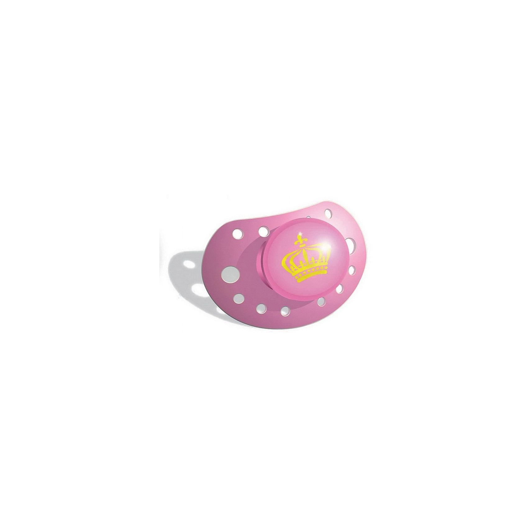 Силиконовая пустышка Petit Royal Pink, с 3 мес., розовыйПустышка Petit Royal Pink 103003 – исключительно для будущей королевы!<br>Ортодонтальная форма и безопасные материалы вместе с потрясающим дизайном – это именно то, что нужно каждому ребенку. Маленькая, но очень удобная соска однозначно понравится вашему ребенку.<br><br>Дополнительная информация:<br><br>- Вес и размер: 25гр, 140Х80Х50<br>- Материал: тритан (соответствует европейскому стандарту)<br>- Не содержит бисфенол А<br>- Ортодонтальная форма<br><br>Пустышку Petit Royal Pink 103003 можно купить в нашем интернет-магазине.<br><br>Ширина мм: 140<br>Глубина мм: 80<br>Высота мм: 50<br>Вес г: 25<br>Возраст от месяцев: 3<br>Возраст до месяцев: 12<br>Пол: Женский<br>Возраст: Детский<br>SKU: 4887730