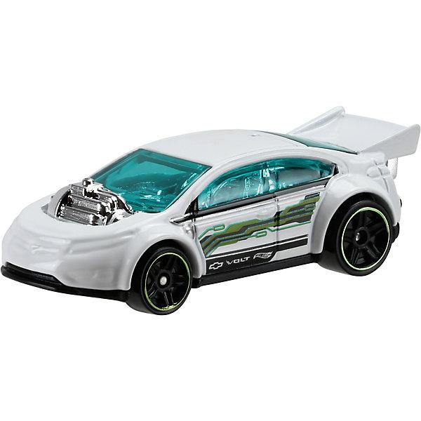 Машинка Hot Wheels из базовой коллекцииПопулярные игрушки<br>Машинка Hot Wheels из базовой коллекции – высококачественная масштабная модель машины, имеющая неординарный, радикальный дизайн. <br><br>В упаковке 1 машинка,  машинки тематически обусловлены от фантазийных, спасательных до экстремальных и просто скоростных машин. <br><br>Соберите свою коллекцию машинок Hot Wheels!<br><br>Дополнительная информация: <br><br>Машинка стандартного размера Hot Wheels<br>Размер упаковки: 11 х 10,5 х 3,5 см<br>Ширина мм: 110; Глубина мм: 45; Высота мм: 110; Вес г: 30; Возраст от месяцев: 36; Возраст до месяцев: 96; Пол: Мужской; Возраст: Детский; SKU: 4888908;
