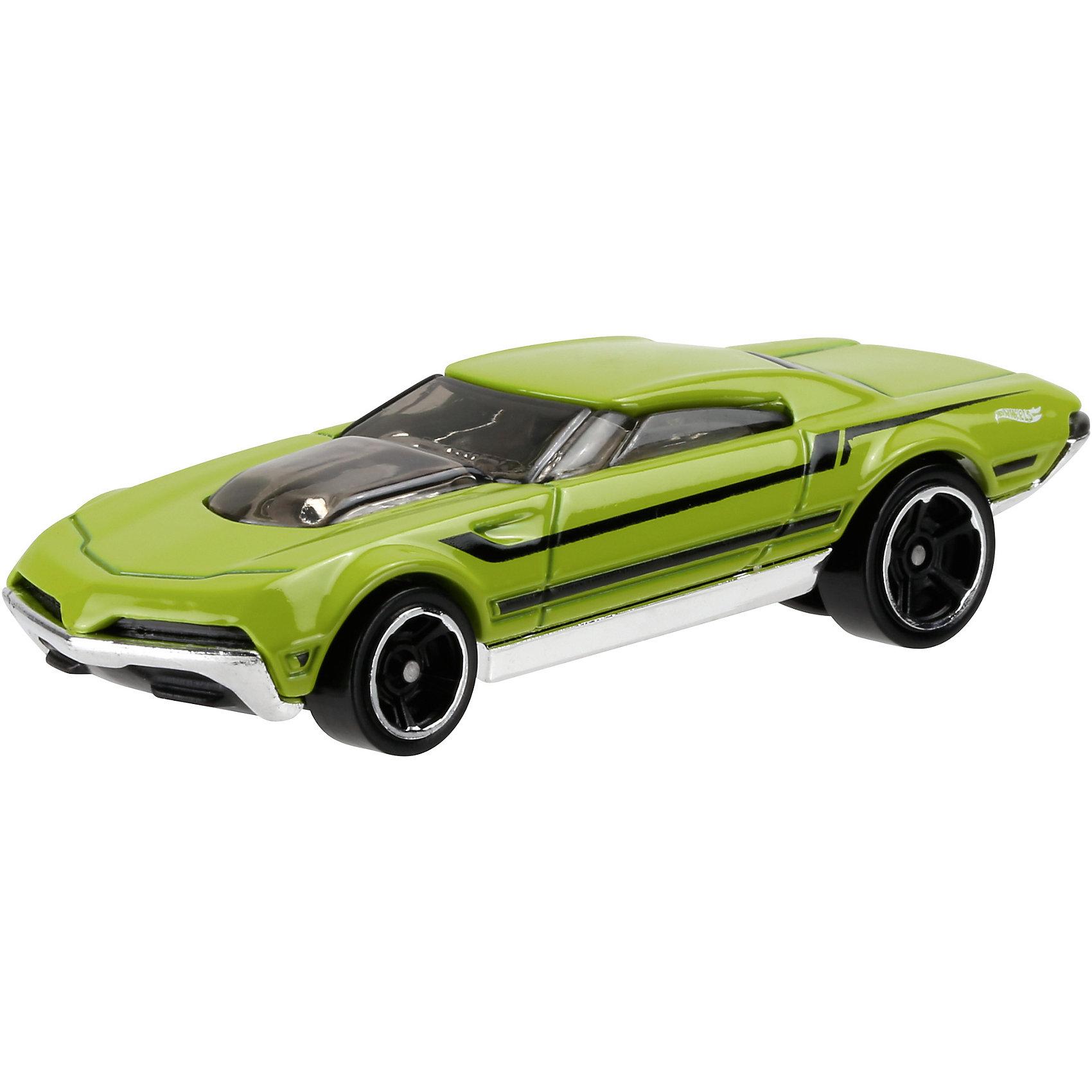 Машинка Hot Wheels из базовой коллекцииМашинки<br>Машинка Hot Wheels из базовой коллекции – высококачественная масштабная модель машины, имеющая неординарный, радикальный дизайн. <br><br>В упаковке 1 машинка,  машинки тематически обусловлены от фантазийных, спасательных до экстремальных и просто скоростных машин. <br><br>Соберите свою коллекцию машинок Hot Wheels!<br><br>Дополнительная информация: <br><br>Машинка стандартного размера Hot Wheels<br>Размер упаковки: 11 х 10,5 х 3,5 см<br><br>Ширина мм: 110<br>Глубина мм: 45<br>Высота мм: 110<br>Вес г: 30<br>Возраст от месяцев: 36<br>Возраст до месяцев: 96<br>Пол: Мужской<br>Возраст: Детский<br>SKU: 4888920