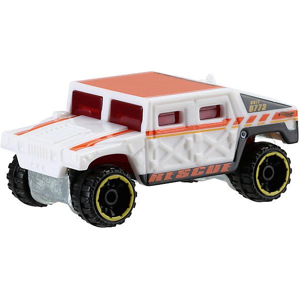 Машинка Hot Wheels из базовой коллекцииПопулярные игрушки<br>Машинка Hot Wheels из базовой коллекции – высококачественная масштабная модель машины, имеющая неординарный, радикальный дизайн. <br><br>В упаковке 1 машинка,  машинки тематически обусловлены от фантазийных, спасательных до экстремальных и просто скоростных машин. <br><br>Соберите свою коллекцию машинок Hot Wheels!<br><br>Дополнительная информация: <br><br>Машинка стандартного размера Hot Wheels<br>Размер упаковки: 11 х 10,5 х 3,5 см<br>Ширина мм: 110; Глубина мм: 45; Высота мм: 110; Вес г: 30; Возраст от месяцев: 36; Возраст до месяцев: 96; Пол: Мужской; Возраст: Детский; SKU: 4888929;