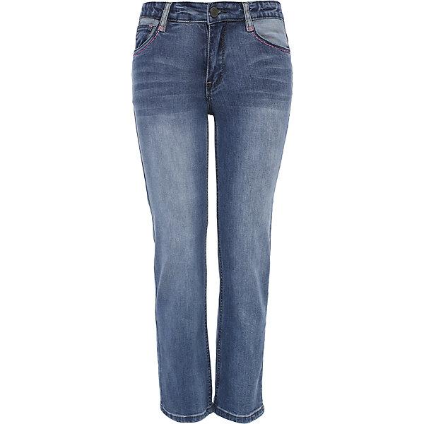 Брюки для девочки Finn FlareДжинсы<br>Брюки известной марки Finn Flare.<br><br>Узкие брюки для девочки стилизованы под джинсы, имеют карманы, застегиваются на молнию и пуговицу. Брюки можно подкатить – с окантовкой девочка будет модно выглядеть. Брюки имеют небольшую потертость, подчеркивающую стиль девочки. <br><br>Фактура материала: Деним<br>Вид застежки: Молния <br>Тип карманов: Втачные<br><br>Состав: 98% хлопок, 2% эластан<br><br>Брюки для девочки Finn Flare можно купить в нашем интернет-магазине.<br><br>Ширина мм: 215<br>Глубина мм: 88<br>Высота мм: 191<br>Вес г: 336<br>Цвет: голубой<br>Возраст от месяцев: 72<br>Возраст до месяцев: 84<br>Пол: Женский<br>Возраст: Детский<br>Размер: 158,146,134,122<br>SKU: 4890093