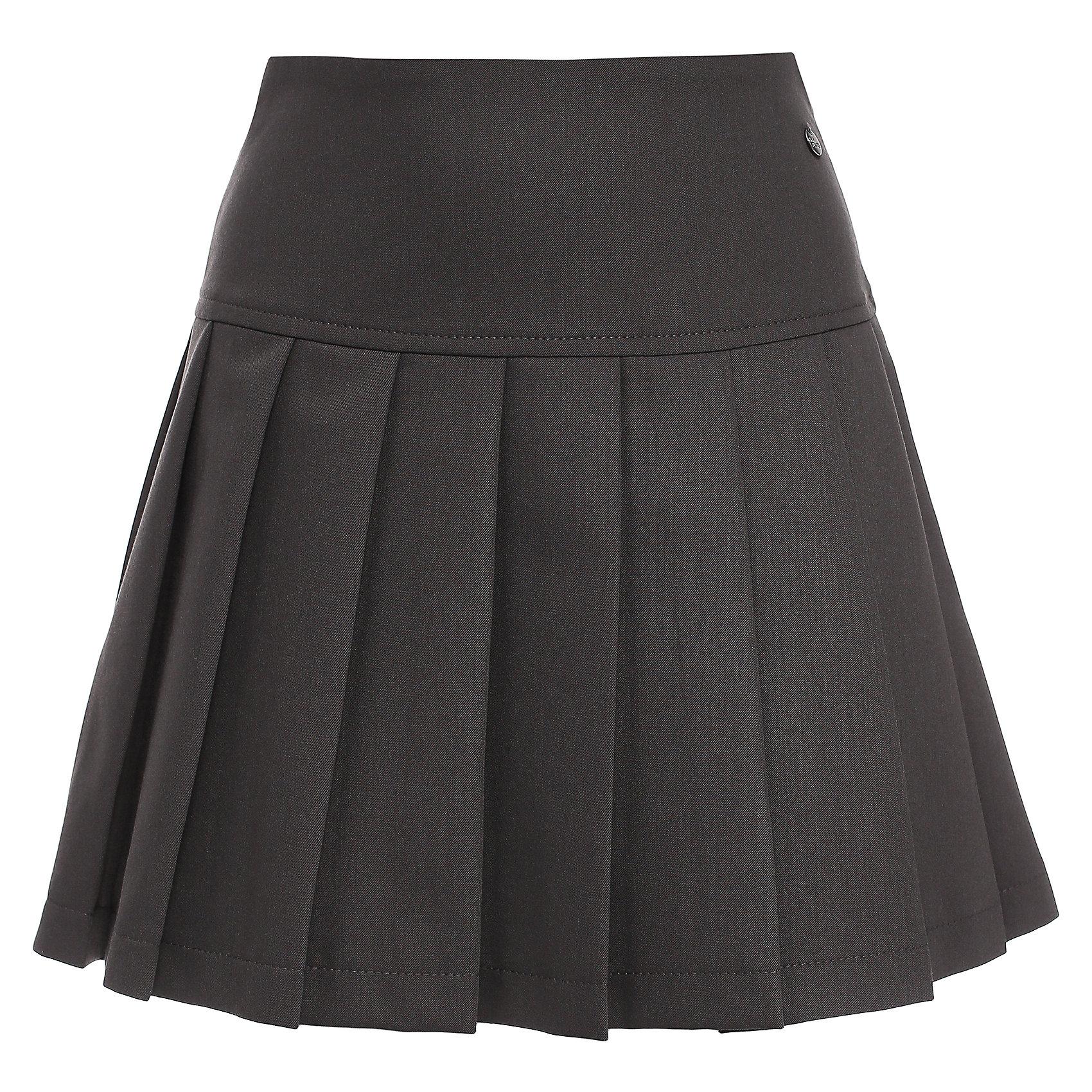 Юбка для девочки Finn FlareЮбка известной марки Finn Flare.<br><br>Школьная юбка со складками по всей окружности предназначена для повседневной носки, сочетается как с блузами и пиджаками, так и с джемперами. Юбка имеет широкий пояс, боковую молнию, украшена маленькой декоративной пуговицей. <br><br>Фактура материала: Текстильный<br>Вид застежки: Молния<br>Тип карманов: Без карманов<br><br>Состав: 65% полиэстер, 33% вискоза, 2% эластан<br>Подкладка: 100% полиэстер<br><br>Юбку для девочки Finn Flare можно купить в нашем интернет-магазине.<br><br>Ширина мм: 207<br>Глубина мм: 10<br>Высота мм: 189<br>Вес г: 183<br>Цвет: серый<br>Возраст от месяцев: 144<br>Возраст до месяцев: 156<br>Пол: Женский<br>Возраст: Детский<br>Размер: 158,116,122,128,134,140,146,152<br>SKU: 4890149