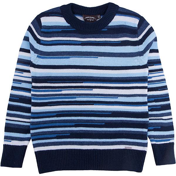 Джемпер для мальчика Finn FlareСвитера и кардиганы<br>Джемпер известной марки Finn Flare.<br><br>Полосатый джемпер для мальчика хорошо сочетается с брюками и джинсами, легко стирается и отлично носится. Джемпер с длинными рукавами и широкой горловиной легко проходит через голову, не имеет дополнительных кнопок или пуговиц. <br><br>Стирать изделие рекомендуется при температуре не более 35 градусов. <br><br>Фактура материала: Трикотажный<br>Вид застежки: Без застежки<br>Длина рукава: Длинные<br>Тип карманов: Без карманов<br><br>Состав: 50% акрил, 50% шерсть<br><br>Джемпер для мальчика Finn Flare можно купить в нашем интернет-магазине.<br>Ширина мм: 190; Глубина мм: 74; Высота мм: 229; Вес г: 236; Цвет: синий; Возраст от месяцев: 48; Возраст до месяцев: 60; Пол: Мужской; Возраст: Детский; Размер: 110,122; SKU: 4890369;
