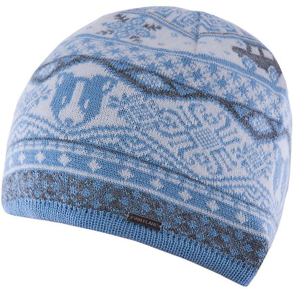Шапка для мальчика Finn FlareГоловные уборы<br>Шапка известной марки Finn Flare.<br><br>Детская шапка используется в весенне-осенний сезон. Шапка вязаная, тонкая, украшена принтом. Легко стирается и хорошо носится. <br><br>Состав: 80% шерсть, 20% нейлон<br><br>Шапку для мальчика Finn Flare можно купить в нашем интернет-магазине.<br>Ширина мм: 89; Глубина мм: 117; Высота мм: 44; Вес г: 155; Цвет: голубой; Возраст от месяцев: 60; Возраст до месяцев: 72; Пол: Мужской; Возраст: Детский; Размер: 54; SKU: 4890382;
