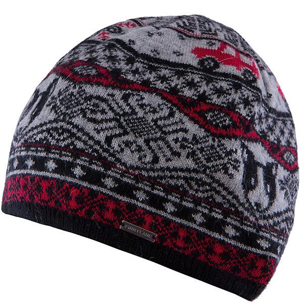 Шапка для мальчика Finn FlareГоловные уборы<br>Шапка известной марки Finn Flare.<br><br>Детская шапка используется в весенне-осенний сезон. Шапка вязаная, тонкая, украшена принтом. Легко стирается и хорошо носится. <br><br>Состав: 80% шерсть, 20% нейлон<br><br>Шапку для мальчика Finn Flare можно купить в нашем интернет-магазине.<br><br>Ширина мм: 89<br>Глубина мм: 117<br>Высота мм: 44<br>Вес г: 155<br>Цвет: черный<br>Возраст от месяцев: 60<br>Возраст до месяцев: 72<br>Пол: Мужской<br>Возраст: Детский<br>Размер: 54<br>SKU: 4890384