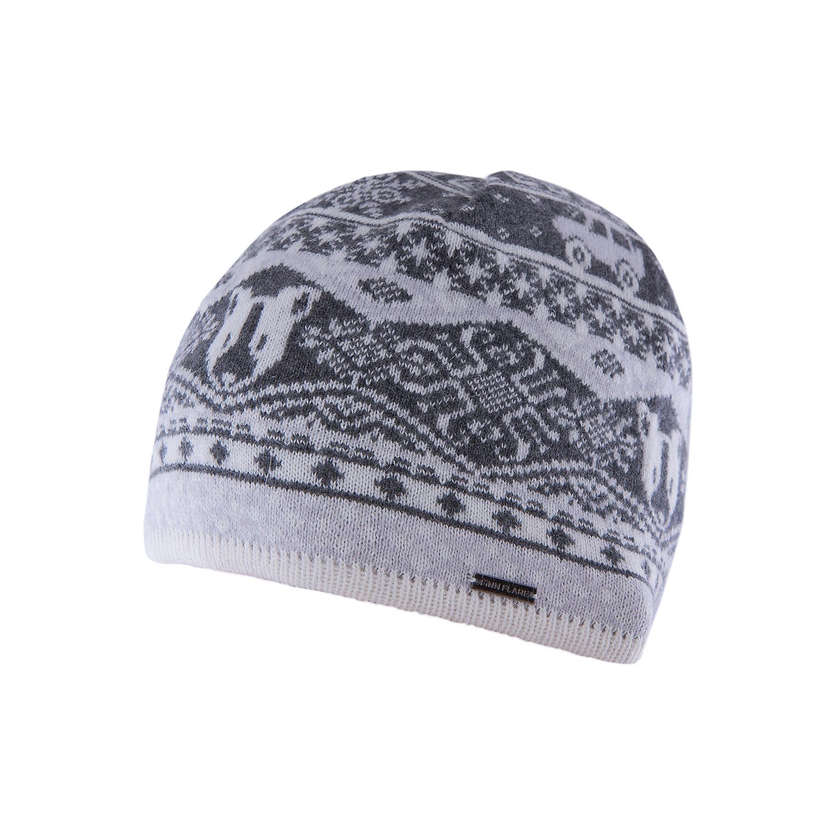 Шапка для мальчика Finn FlareГоловные уборы<br>Шапка известной марки Finn Flare.<br><br>Детская шапка используется в весенне-осенний сезон. Шапка вязаная, тонкая, украшена принтом. Легко стирается и хорошо носится. <br><br>Состав: 80% шерсть, 20% нейлон<br><br>Шапку для мальчика Finn Flare можно купить в нашем интернет-магазине.<br><br>Ширина мм: 89<br>Глубина мм: 117<br>Высота мм: 44<br>Вес г: 155<br>Цвет: серый<br>Возраст от месяцев: 60<br>Возраст до месяцев: 72<br>Пол: Мужской<br>Возраст: Детский<br>Размер: 54<br>SKU: 4890386