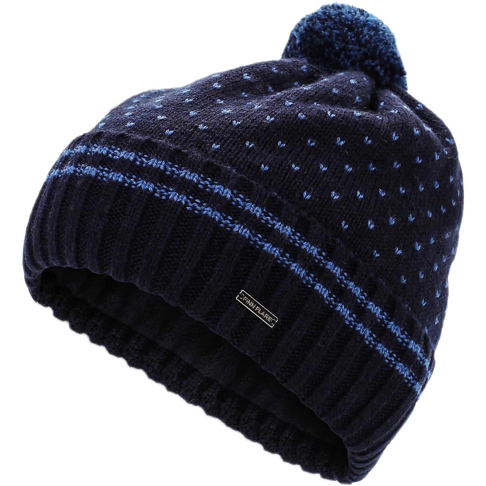 Шапка для мальчика Finn FlareГоловные уборы<br>Шапка известной марки Finn Flare.<br><br>Утепленная шапка для мальчика украшена помпоном, есть абстрактный принт. Имеется логотип бренда Finn Flare. Шапка на подкладке, используется в холодную осеннюю пору. <br><br>Состав: 60% шерсть, 40% акрил<br>Подкладка: 100% полиэстер<br><br>Шапку для мальчика Finn Flare можно купить в нашем интернет-магазине.<br><br>Ширина мм: 89<br>Глубина мм: 117<br>Высота мм: 44<br>Вес г: 155<br>Цвет: синий<br>Возраст от месяцев: 60<br>Возраст до месяцев: 72<br>Пол: Мужской<br>Возраст: Детский<br>Размер: 54<br>SKU: 4890388