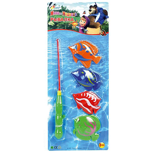 Игра Рыбалка, Маша и медведь, Играем вместеИгрушки<br>С такими яркими рыбками Вашего малыша ждет просто потрясающая рыбалка! А процесс купания теперь затянется надолго и будет самым любимым занятием ребенка.<br><br>Дополнительная информация:<br><br>- Возраст: от 3 лет.<br>- Кол-во предметов: 5 шт.<br>- В комплекте: удочка, 4 разноцветные рыбки.<br>- Материал: пластик.<br>- Размер упаковки: 2х39х16 см.<br>- Вес в упаковке: 120 г.<br><br>Купить игру Рыбалка из мультфильма Маша и медведь можно в нашем магазине.<br><br>Ширина мм: 20<br>Глубина мм: 390<br>Высота мм: 160<br>Вес г: 120<br>Возраст от месяцев: 36<br>Возраст до месяцев: 60<br>Пол: Унисекс<br>Возраст: Детский<br>SKU: 4891774