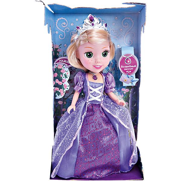 Кукла Рапунцель со светящимся амулетом, 25см, со звуком, Принцессы Дисней, КарапузИгрушки<br>Прекрасная Рапунцель бесспорно понравиться Вашей принцессе! А когда малышка узнает, что кукла еще и умеет разговаривать и даже петь песни, то счастью не будет предела!<br><br>Дополнительная информация:<br><br>- Возраст: от 3 лет.<br>- Высота куклы: 25 см.<br>- В комплекте: кукла, диадема, кулон, туфельки.<br>- Тип батареек: 3 х AG3 / LR41 (таблетки).<br>- Материал: пластик, текстиль.<br>- Размер упаковки: 9х29х16 см.<br>- Вес в упаковке: 380 г.<br><br>Купить куклу Рапунцель со светящимся амулетом можно в нашем магазине.<br>Ширина мм: 90; Глубина мм: 290; Высота мм: 160; Вес г: 380; Возраст от месяцев: 36; Возраст до месяцев: 84; Пол: Женский; Возраст: Детский; SKU: 4891775;