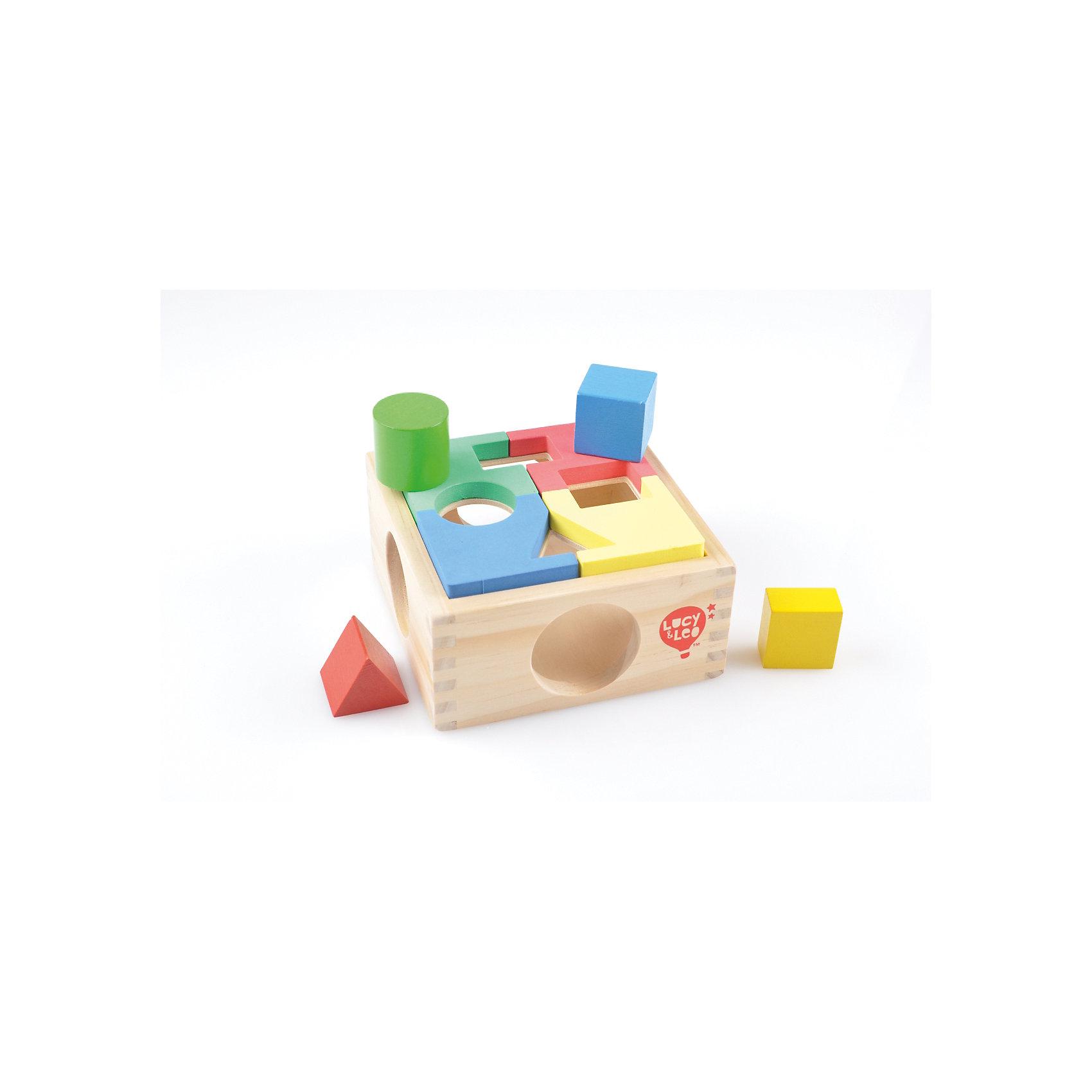 Занимательная коробка, Мир деревянных игрушекСортеры<br>Занимательная коробка – целый комплекс для развития ребенка!<br>Коробка-сортер включает в себя 4 пирамидки, которые обучают ребенка простому счету, цветам и формам. У каждой фигурки своя форма, цвет и отверстие в коробке. Специальная накладка может «раскрасить» отверстия, чтобы усложнить задачу. Игрушка изготовлена из натурального дерева. Подходит для детей от 3 лет и старше. <br><br>Дополнительная информация:<br><br>- материал: натуральное дерево, ЭВА<br>- размер: 145х90х150<br>- вес: 357г<br>- возраст: от 3 лет<br><br>Занимательную коробку можно купить в нашем интернет-магазине.<br><br>Ширина мм: 145<br>Глубина мм: 90<br>Высота мм: 150<br>Вес г: 357<br>Возраст от месяцев: 36<br>Возраст до месяцев: 2147483647<br>Пол: Унисекс<br>Возраст: Детский<br>SKU: 4895860