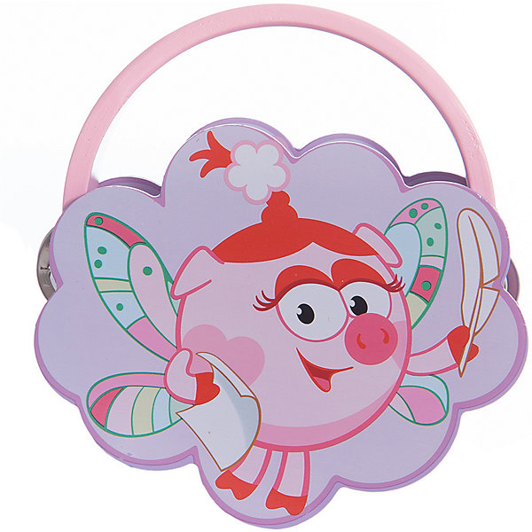 Бубен Нюша, Смешарики, Мир деревянных игрушекДругие музыкальные инструменты<br>Бубен Нюша - начинать первые шаги в музыке интереснее с любимыми героями. <br>Бубен с Нюшей из Смешариков выполнен из натурального дерева, делая игрушку безопасной даже для самых маленьких. Нежный розовый цвет отлично подойдет для девочек от 3 лет.<br><br>Дополнительная информация:<br>- размер: 150х35х150<br>- вес: 143г<br>- материал: дерево, металл<br>- возраст: от 3 лет<br><br>Бубен Нюша можно купить в нашем интернет-магазине.<br>Ширина мм: 150; Глубина мм: 35; Высота мм: 150; Вес г: 143; Возраст от месяцев: 36; Возраст до месяцев: 2147483647; Пол: Унисекс; Возраст: Детский; SKU: 4895868;