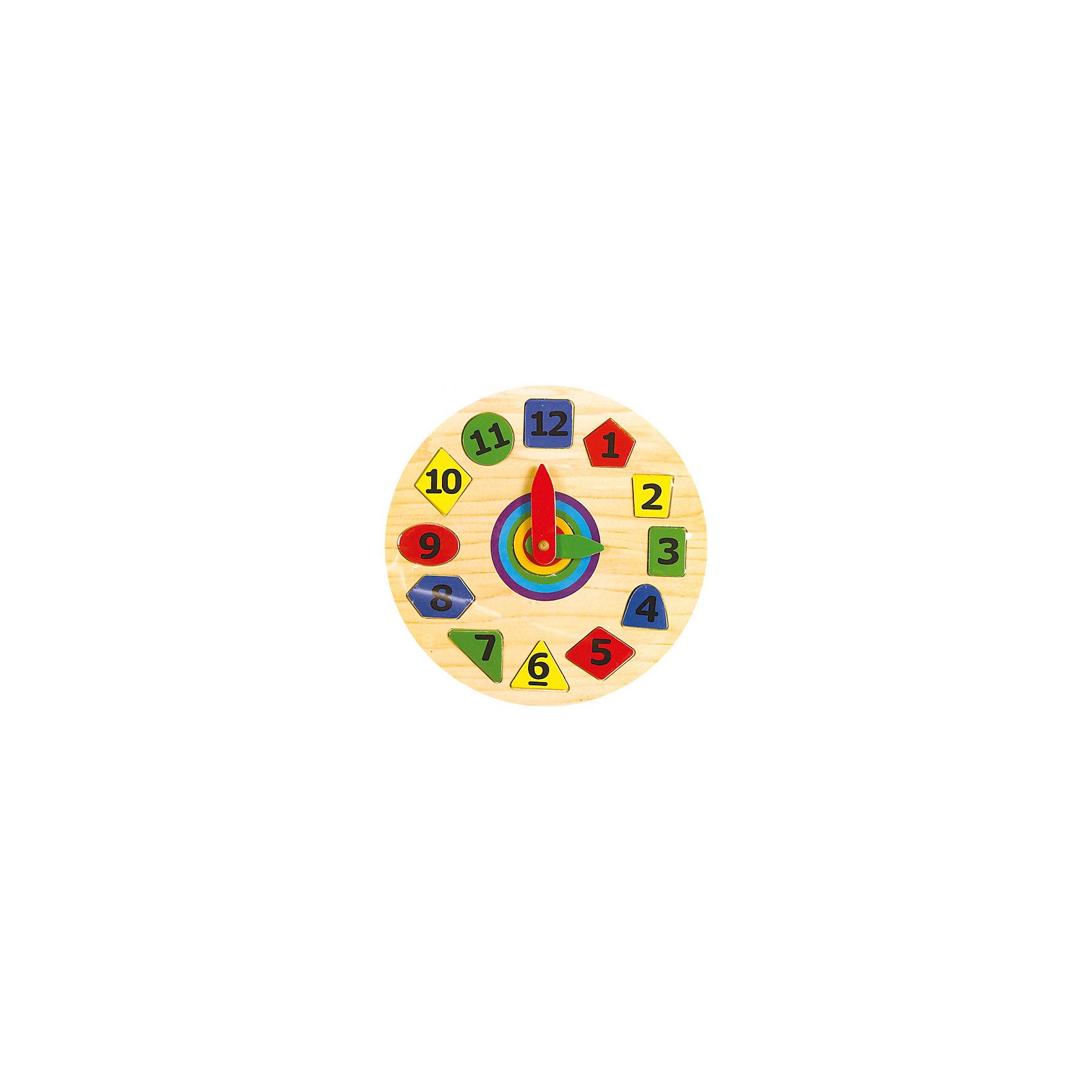 Часы геометрия, Мир деревянных игрушекЧасы геометрия – позволяют не только выучить время, цифры и цвета, но и форму. <br>Игрушка состоит из поля с углублениями, в которое ребенок сам вставляет фигуры. Таким образом, изучая форму и порядок цифр. Разноцветные яркие цифры и само поле изготовлены из качественной древесины, что делает весь комплект безопасным для ребенка.<br><br>Дополнительная информация:<br>- размер: 275х20х275<br>- вес: 400г<br>- материал: дерево <br>- возраст: от 3 лет<br><br>Часы геометрия можно купить в нашем интернет-магазине.<br><br>Ширина мм: 275<br>Глубина мм: 20<br>Высота мм: 275<br>Вес г: 400<br>Возраст от месяцев: 36<br>Возраст до месяцев: 2147483647<br>Пол: Унисекс<br>Возраст: Детский<br>SKU: 4895875