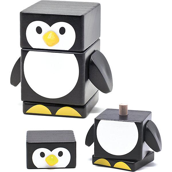 Пирамидка Пингвин, Мир деревянных игрушекДеревянные игрушки<br>Пирамидка Пингвин – очаровательная и легкая игрушка для детей.<br>Данная модель состоит из двух частей и основания. Бело-черный пингвин изготовлен из натуральной хорошо отшлифованной древесины, которая полностью безопасна для ребенка. Краска не стирается со временем, не тускнеет и не блекнет. Пирамидка легко нанизывается, поэтому не вызывает сложностей даже у самых маленьких.<br>Дополнительная информация:<br>- размер: 95х70х185<br>- вес: 200г<br>- материал: дерево <br>- возраст: от 3 лет<br><br>Пирамидку Пингвин можно купить в нашем интернет-магазине.<br><br>Ширина мм: 95<br>Глубина мм: 70<br>Высота мм: 185<br>Вес г: 200<br>Возраст от месяцев: 36<br>Возраст до месяцев: 2147483647<br>Пол: Унисекс<br>Возраст: Детский<br>SKU: 4895889