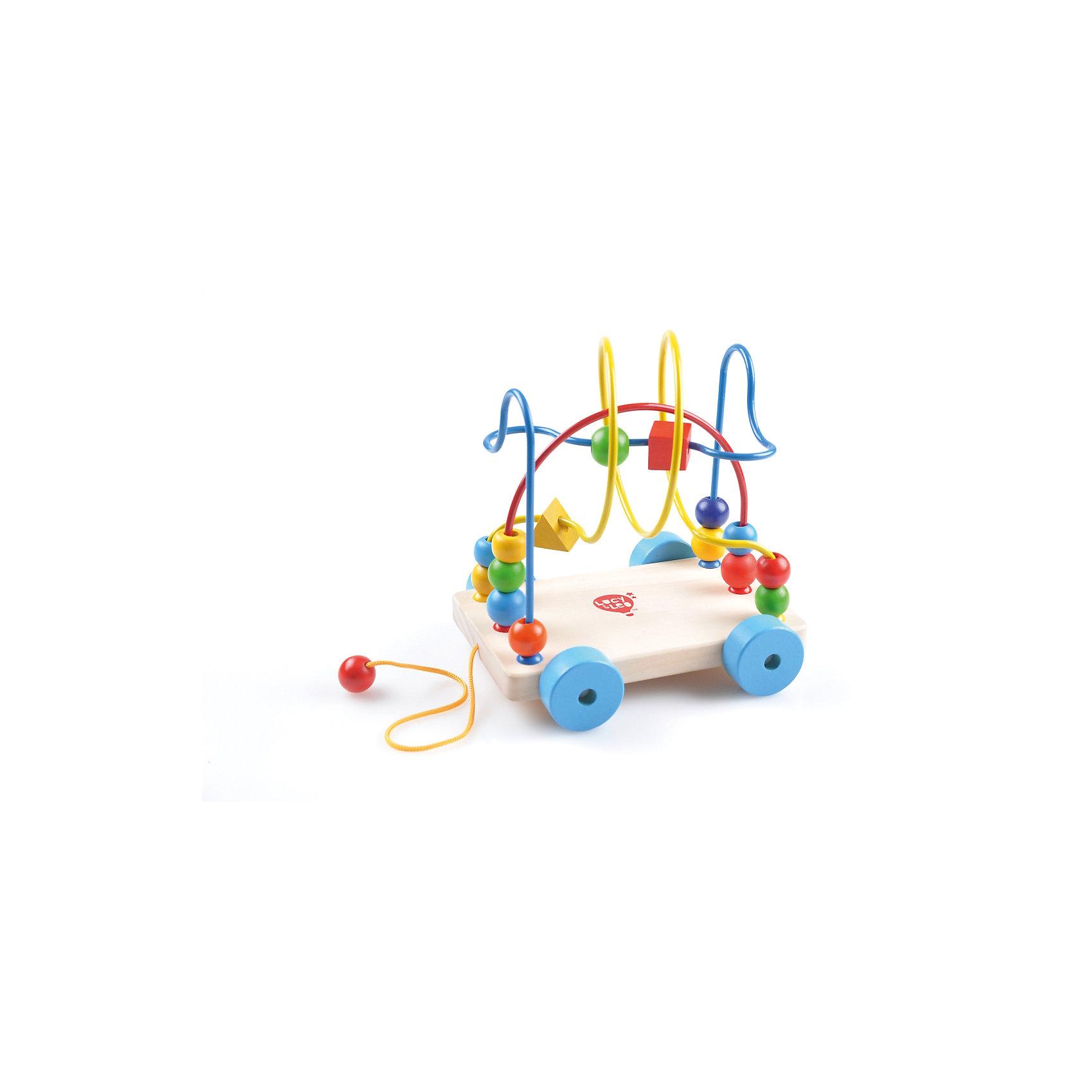 Лабиринт-Каталка, Мир деревянных игрушек