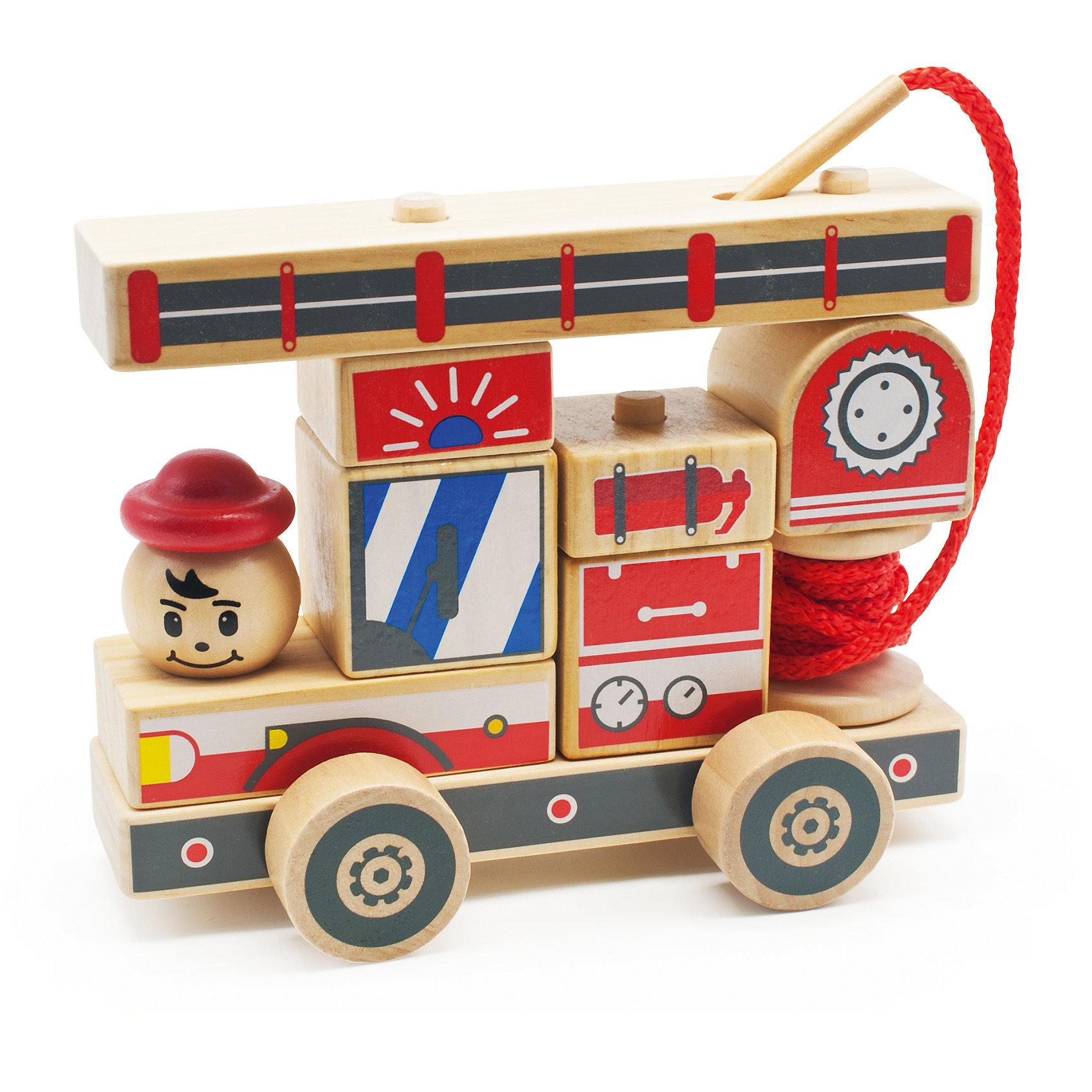 Автомобиль-конструктор 2, Мир деревянных игрушекЭтот яркий автомобильчик придется по вкусу всем юным автолюбителям! Секрет его в том, что он состоит из отдельных кубиков и деталей. Ребенку будет интересно самому собрать оригинальную машинку и потом весело играть с ней. Надо лишь надеть нужные детали на деревянные штырьки на платформе с колесами - и машинка готова! <br>Все детали автомобиля выполнены из натурального дерева, раскрашены гипоаллергенными нетоксичными красителями, не имеют острых углов, прекрасно обработаны - абсолютно безопасны для детей. <br>Игры с конструктором развивают у малышей моторику рук, внимание, пространственного воображение и фантазию. <br><br>Дополнительная информация:<br><br>- Возраст: от 3-х лет.<br>- Материал: дерево. <br>- Размер игрушки: 17 см. <br>- Количество деталей: 12.<br><br>Автомобиль-конструктор 2 можно купить в нашем магазине.<br><br>Ширина мм: 180<br>Глубина мм: 90<br>Высота мм: 145<br>Вес г: 471<br>Возраст от месяцев: 36<br>Возраст до месяцев: 2147483647<br>Пол: Унисекс<br>Возраст: Детский<br>SKU: 4895900