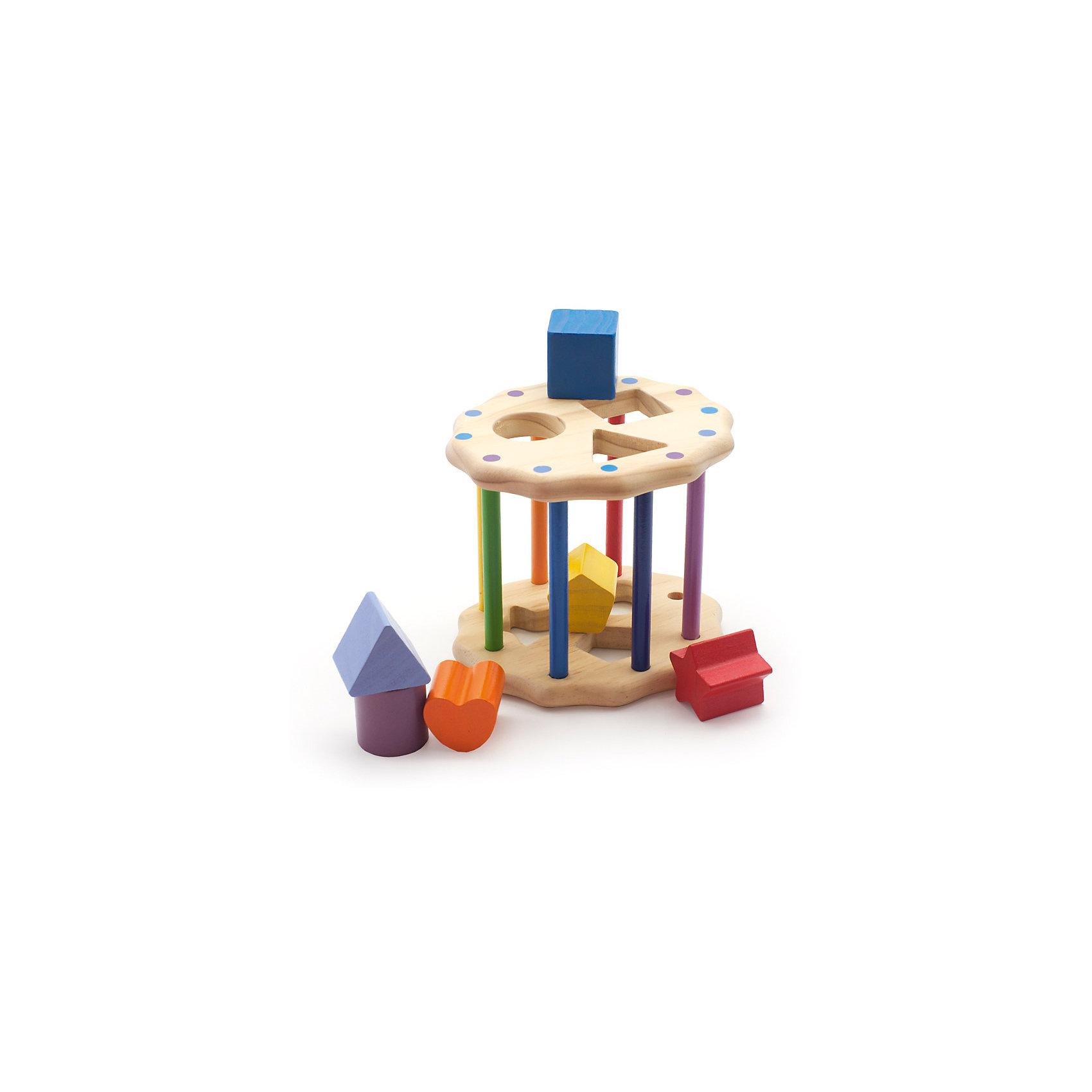 Занимательный цилиндр, Мир деревянных игрушекЗанимательный цилиндр - оригинальная игрушка - сортер, изготовленная из натурального дерева, с применением экологичных, безопасных для детей красителей.<br>Игрушка - сортер Занимательный цилиндр поможет малышам развить моторику рук, усидчивость, внимание, пространственное мышление; познакомит кроху с различными цветами и формами.<br><br>Дополнительная информация:<br><br>- Возраст: от 1 года до 3 лет. <br>- Материал: дерево. <br>- Размер игрушки: 17х16,5х14 см. <br>- Чтобы достать фигурки, нужно выдвинуть штырек.<br><br>Игрушку Занимательный цилиндр можно купить в нашем магазине.<br><br>Ширина мм: 170<br>Глубина мм: 165<br>Высота мм: 140<br>Вес г: 545<br>Возраст от месяцев: 36<br>Возраст до месяцев: 2147483647<br>Пол: Унисекс<br>Возраст: Детский<br>SKU: 4895903