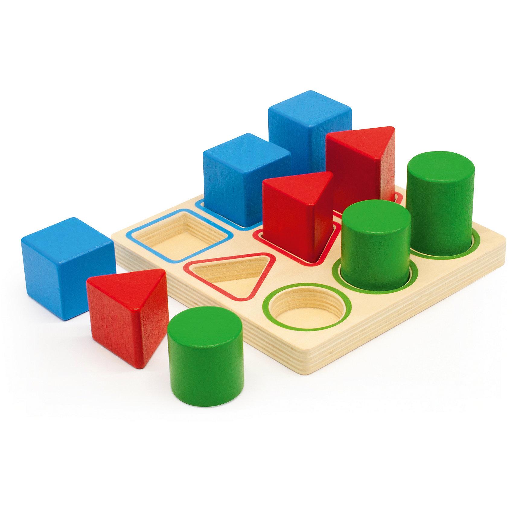 Сортировщик Геометрия, Мир деревянных игрушек