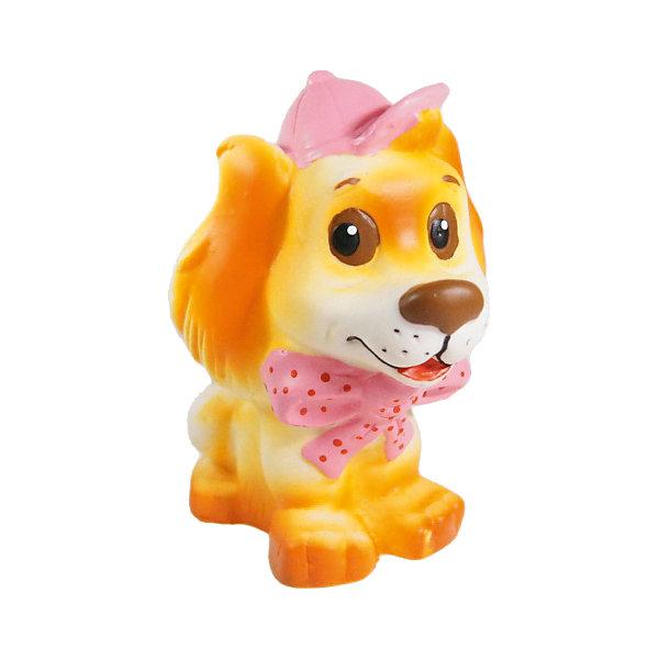 Собачка Каштанка, КудесникиИгрушки<br>Собачка Каштанка, Кудесники.<br><br>Характеристики:<br><br>• Материал: ПВХ.<br>• Размер: 4х6х15 см.<br><br>Отличная игрушка из мягкого ПВХ надолго займет внимания вашего малыша. Эта игрушка поможет малышу при прорезывании зубов, поможет развивать моторику рук, знакомить с формой, цветом, образами также с ней можно забавно поиграть в ванной. Яркий образ милой собачки поможет ребенку придумывать различные сюжетно-ролевые игры.<br><br>Собачку Каштанка, Кудесники, можно купить в нашем интернет – магазине.<br>Ширина мм: 40; Глубина мм: 60; Высота мм: 150; Вес г: 135; Возраст от месяцев: 12; Возраст до месяцев: 36; Пол: Унисекс; Возраст: Детский; SKU: 4896439;