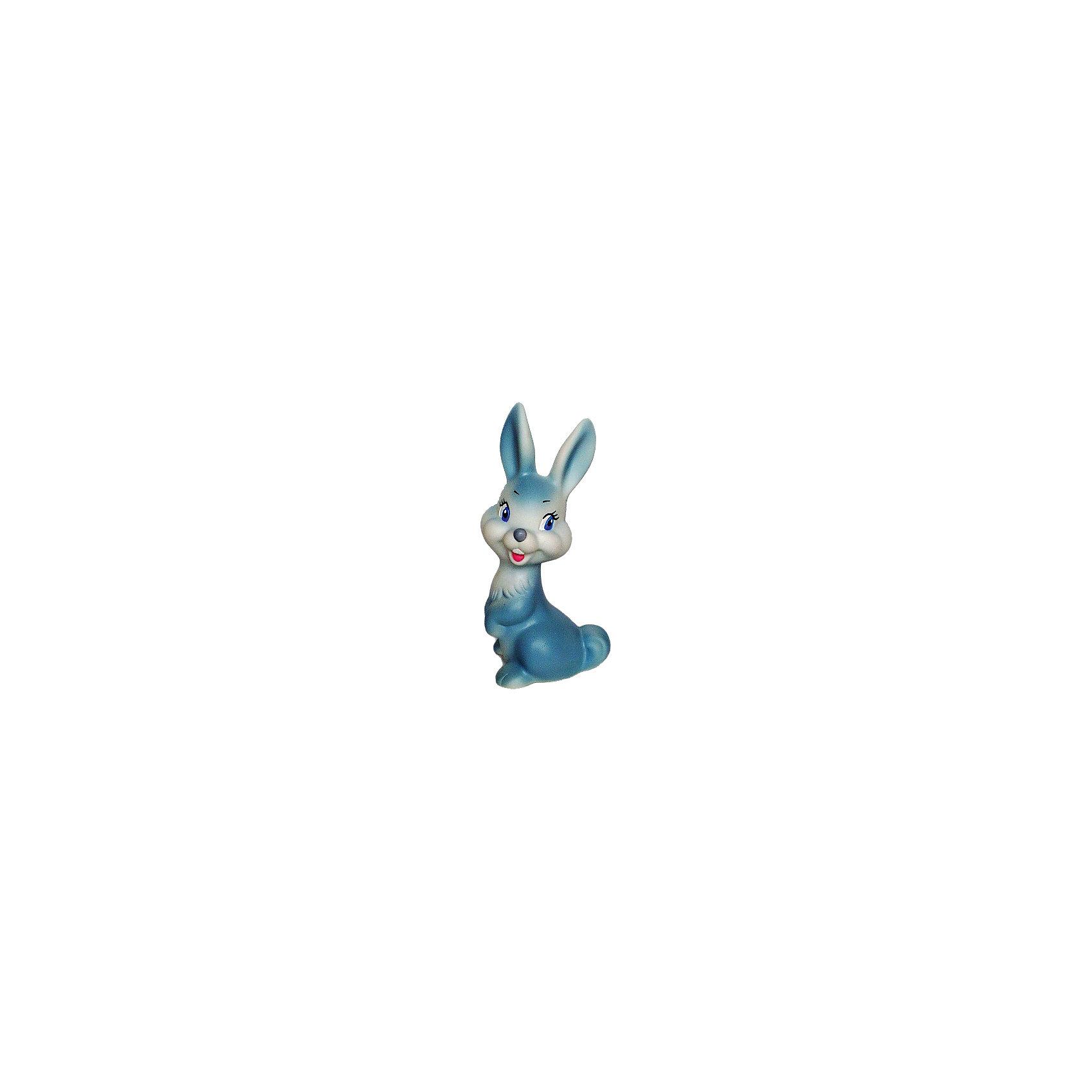Зайчонок, КудесникиЗайчонок, Кудесники<br><br>Характеристики:<br><br>• Материал: пластизоль<br>• Размер: 14х7 см<br>• Игрушка: зайчонок<br>• Цвет: голубой<br><br>Классический дизайн игрушки неизменно привлекает каждого ребенка уже долгие годы. Сделана игрушка из качественного материала, который не вредит ребенку и не вызывает аллергии. Ее смело можно грызть, брать с собой в ванну, ведь игрушка совершенно не боится воды и влаги. Милый улыбающийся зайчик словно приглашает малыша поиграть с ним.<br><br>Зайчонок, Кудесники можно купить в нашем магазине.<br><br>Ширина мм: 80<br>Глубина мм: 60<br>Высота мм: 120<br>Вес г: 80<br>Возраст от месяцев: 12<br>Возраст до месяцев: 36<br>Пол: Унисекс<br>Возраст: Детский<br>SKU: 4896443