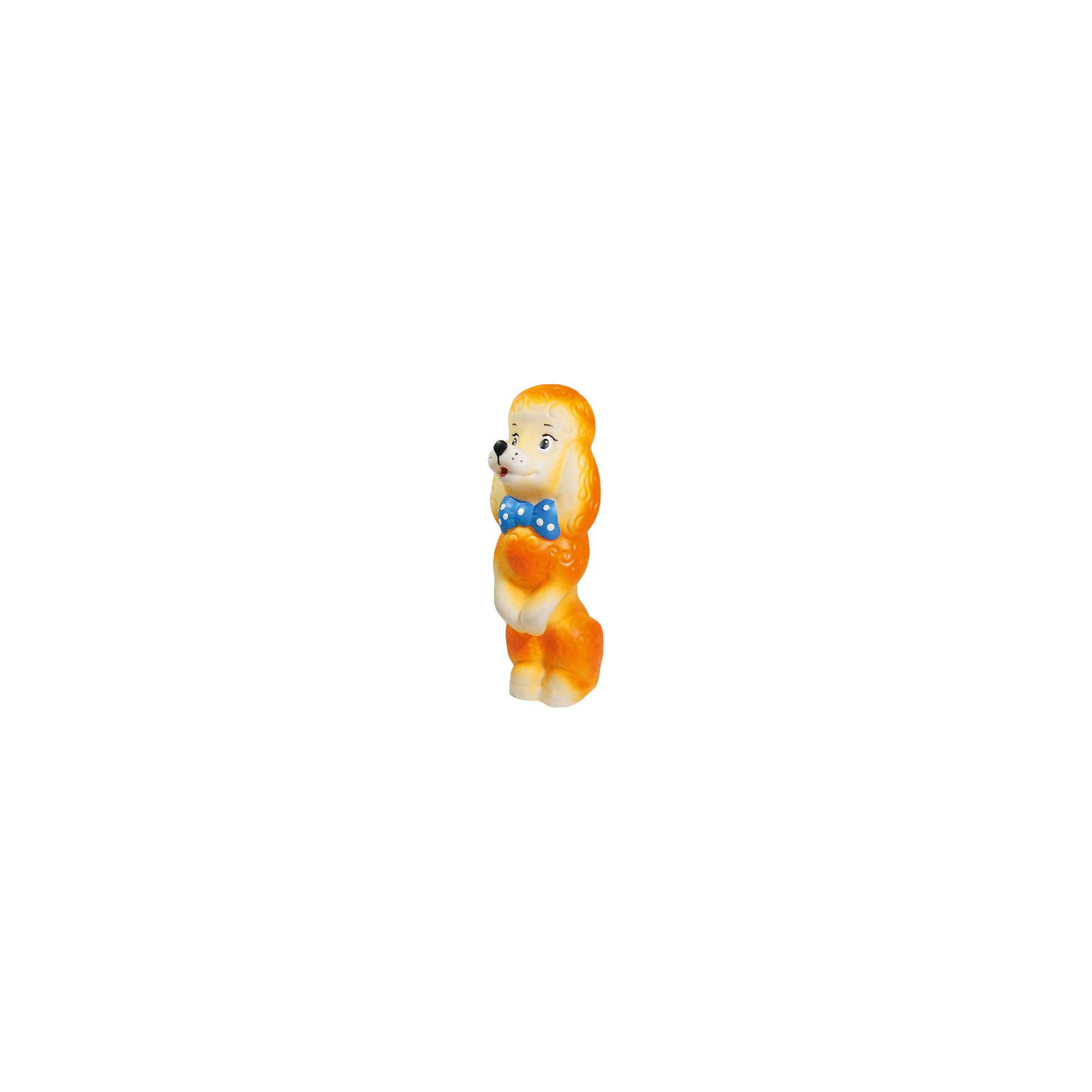 Собачка Королевский пудель, КудесникиИгрушки ПВХ<br>Собачка Королевский пудель, Кудесники<br><br>Характеристики:<br><br>• Материал: ПВХ.<br>• Размер: 3х4х14 см.<br><br>Отличная игрушка из мягкого ПВХ надолго займет внимание вашего малыша. Эта игрушка поможет малышу при прорезывании зубов, поможет развивать моторику рук, знакомить с формой, цветом, образами также с ней можно забавно поиграть в ванной. Яркий образ милой забавной собачки поможет ребенку придумывать различные сюжетно-ролевые игры.<br><br>Собачку Королевский пудель, Кудесники, можно купить в нашем интернет – магазине.<br><br>Ширина мм: 30<br>Глубина мм: 40<br>Высота мм: 140<br>Вес г: 82<br>Возраст от месяцев: 12<br>Возраст до месяцев: 36<br>Пол: Унисекс<br>Возраст: Детский<br>SKU: 4896444