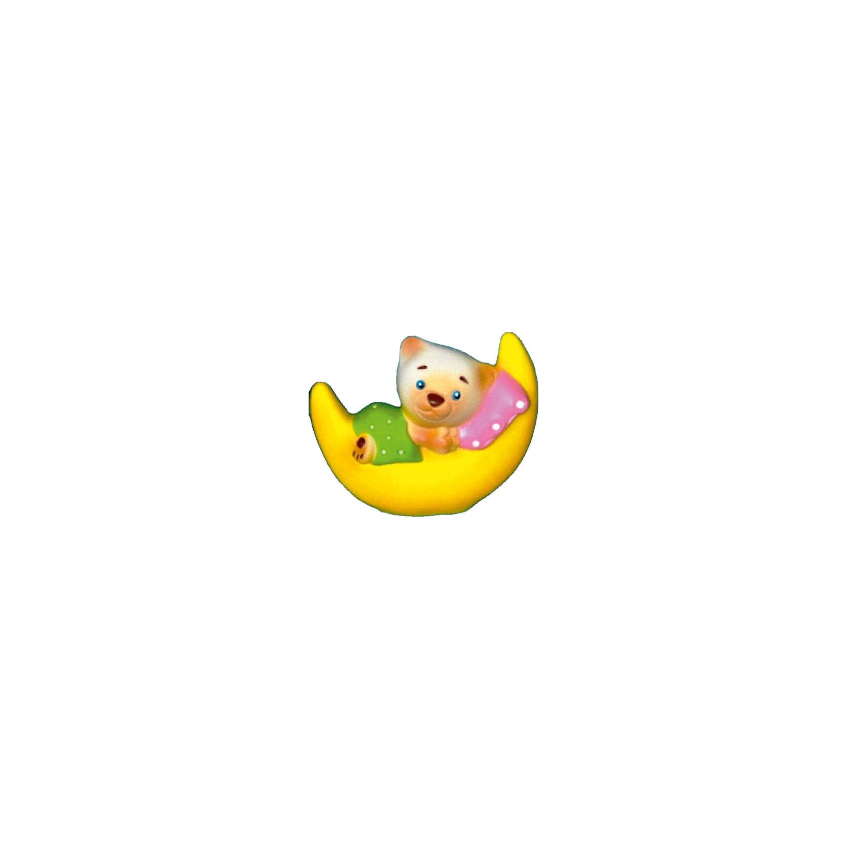 Мишка на Луне, КудесникиМишка на Луне, Кудесники<br><br>Характеристики:<br><br>• Материал: ПВХ.<br>• Размер: 11 см.<br>• Вес: 100г.<br> <br>Отличная игрушка из мягкого ПВХ надолго займет внимания вашего малыша. Эта игрушка поможет малышу при прорезывании зубов, поможет развивать моторику рук, знакомить с формой, цветом, образами. Также с ней можно забавно поиграть в ванной. Яркий образ поможет ребенку придумывать различные сюжетно-ролевые игры.<br><br>Мишку на Луне, Кудесники, можно купить в нашем интернет – магазине.<br><br>Ширина мм: 80<br>Глубина мм: 30<br>Высота мм: 110<br>Вес г: 100<br>Возраст от месяцев: 12<br>Возраст до месяцев: 36<br>Пол: Унисекс<br>Возраст: Детский<br>SKU: 4896467