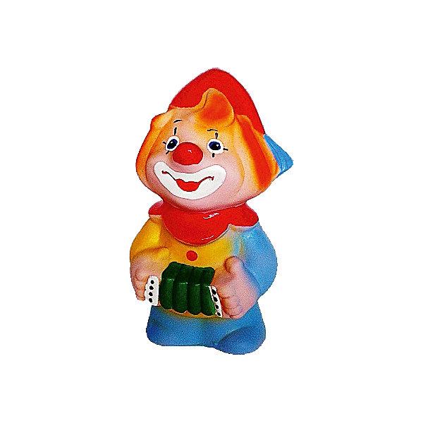 Клоун с гармошкой, КудесникиИгрушки для ванной<br>Клоун с гармошкой, Кудесники<br><br>Характеристики:<br><br>• Материал: ПВХ.<br>• Размер: 14 см.<br>• Вес: 76г.<br> <br>Отличная игрушка из мягкого ПВХ надолго займет внимания вашего малыша. Эта игрушка поможет малышу при прорезывании зубов, поможет развивать моторику рук, знакомить с формой, цветом, образами. Также с ней можно забавно поиграть в ванной. Яркий образ поможет ребенку придумывать различные сюжетно-ролевые игры.<br><br>Клоуна с гармошкой, Кудесники, можно купить в нашем интернет – магазине.<br><br>Ширина мм: 50<br>Глубина мм: 70<br>Высота мм: 130<br>Вес г: 77<br>Возраст от месяцев: 12<br>Возраст до месяцев: 36<br>Пол: Унисекс<br>Возраст: Детский<br>SKU: 4896472