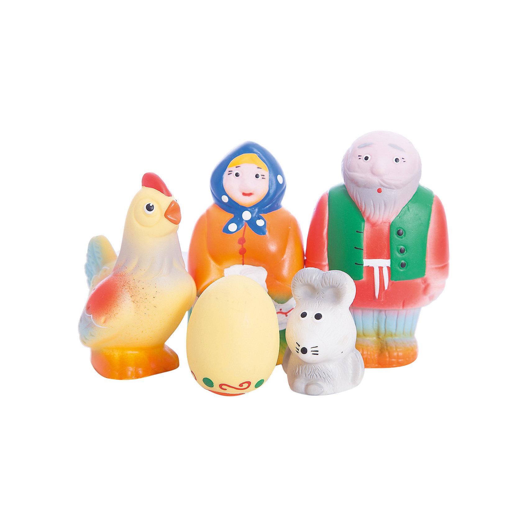 Набор Курочка Ряба и золотое яичко, КудесникиИгрушки<br>Набор Курочка Ряба и золотое яичко, Кудесники<br><br>Характеристики:<br><br>• Материал: ПВХ.<br>• Размер упаковки: 22х22х11,5 см.<br>• Вес: 170г.<br>• В набор входят: Дед, Бабка, курица, яичко, мышка.<br> <br>Набор Курочка Ряба и золотое яичко, Кудесники – это отличный игровой набор из мягкого пластизоля. Эти игрушки помогут малышу при прорезывании зубов, помогут развивать моторику рук, знакомить с формой, цветом, образами. Также с ними можно забавно поиграть в ванной. Яркие образы помогут ребенку проигрывать сюжет любимой сказки, а также придумывать различные сюжетно-ролевые игры.<br><br>Набор Курочка Ряба и золотое яичко, Кудесники, можно купить в нашем интернет – магазине.<br><br>Ширина мм: 220<br>Глубина мм: 220<br>Высота мм: 115<br>Вес г: 170<br>Возраст от месяцев: 12<br>Возраст до месяцев: 36<br>Пол: Унисекс<br>Возраст: Детский<br>SKU: 4896477