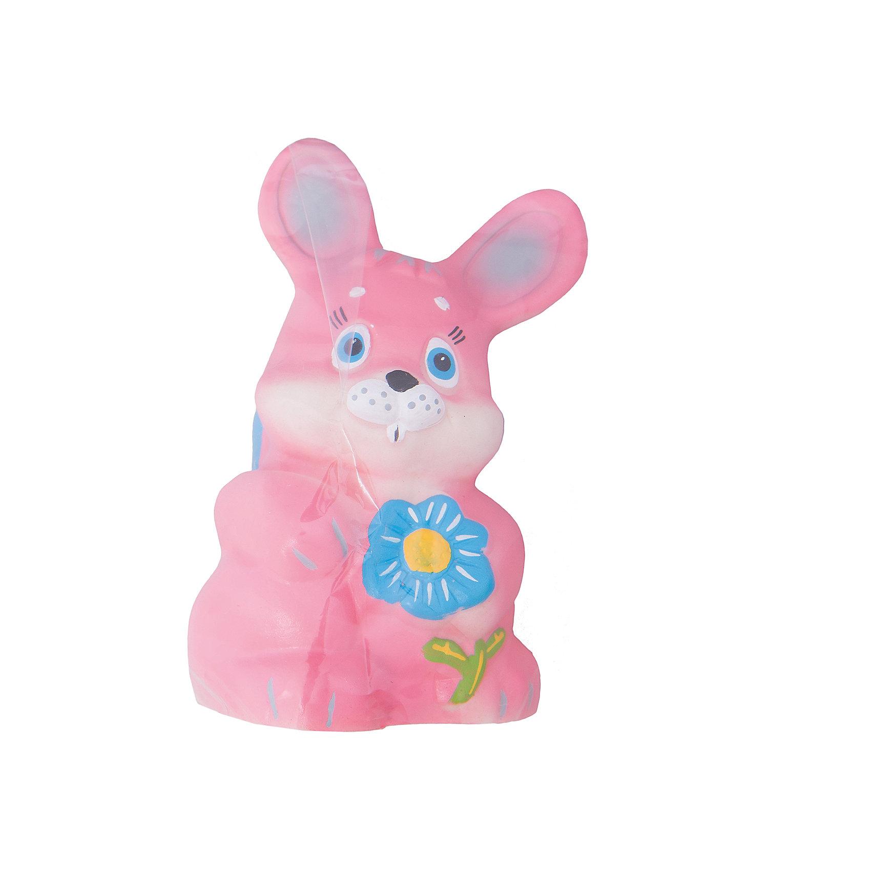 Зайка Лапочка, КудесникиИгрушки ПВХ<br>Зайка Лапочка, Кудесники<br><br>Характеристики:<br><br>• Материал: ПВХ.<br>• Размер: 5х6 х14,5см.<br><br>Отличная игрушка из мягкого ПВХ надолго займет внимание вашего малыша. Эта игрушка поможет малышу при прорезывании зубов, поможет развивать моторику рук, знакомить с формой, цветом, образами также с ней можно забавно поиграть в ванной. Яркий образ нежного забавного зайки поможет ребенку придумывать различные сюжетно-ролевые игры.<br><br>Зайку Лапочку, Кудесники, можно купить в нашем интернет – магазине.<br><br>Ширина мм: 50<br>Глубина мм: 60<br>Высота мм: 145<br>Вес г: 108<br>Возраст от месяцев: 12<br>Возраст до месяцев: 36<br>Пол: Унисекс<br>Возраст: Детский<br>SKU: 4896478