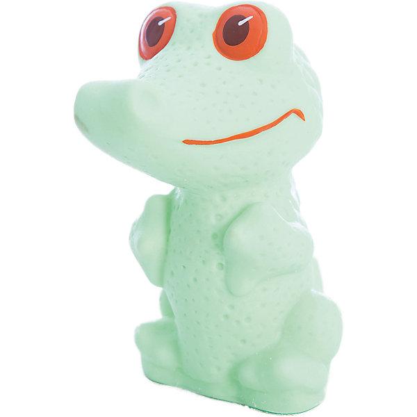 Крокодил, КудесникиРезиновые игрушки<br>Характеристики:<br><br>• возраст: от 3 лет;<br>• тип игрушки: крокодил;<br>• размер: 5x12x7см;<br>• высота: 12 см;<br>• материал: ПВХ резина;<br>• бренд: Кудесники;<br>• страна производитель: Россия.<br> <br>Крокодил Кудесники придется по душе каждому ребенку. Игрушка выполнена из  высококачественных материалов, причем с крокодилом можно купаться в ванной. Резиновая фигурка разнообразит купание ребенка от трех лет. Яркий цвет долго сохраняет привлекательный внешний вид. Небольшая игрушка 12 см высотой понравится как мальчикам, так и девочкам. <br><br>Крокодила Кудесники можно купить в нашем интернет-магазине.<br>Ширина мм: 50; Глубина мм: 70; Высота мм: 120; Вес г: 85; Возраст от месяцев: 12; Возраст до месяцев: 36; Пол: Унисекс; Возраст: Детский; SKU: 4896479;