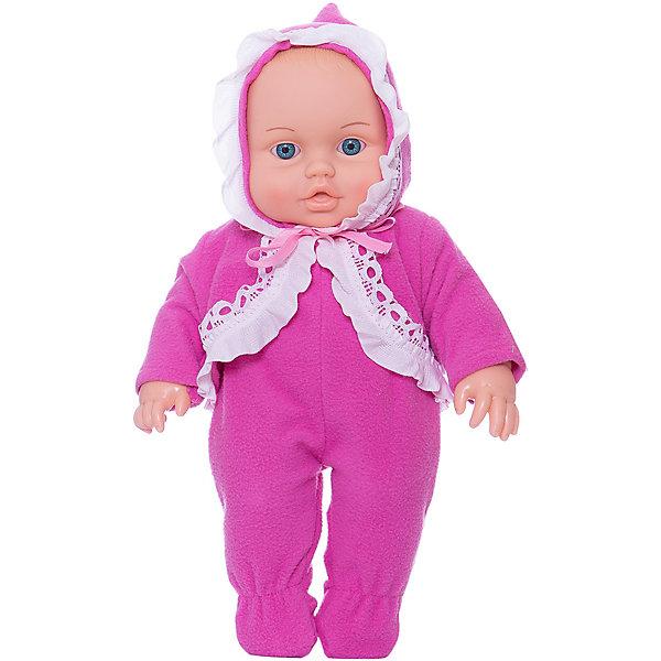 Кукла Малышка 1 (девочка), 35,5 см, ВеснаКуклы<br>Характеристики:<br><br>• возраст: от 3 лет;<br>• тип игрушки: пупс;<br>• высота: 35,5 см;<br>• комплект: кукла, одежда;<br>• размер: 7x37x10 см;<br>• материал: текстиль, винил;<br>• бренд: Весна;<br>• страна производитель: Россия.<br><br>Кукла Малышка Весна 1 (девочка)  35,5 см имеет анатомическую особенность, указывающую на её пол: девочка. Максимально реалистичная игрушка порадует девочек от трех лет. Милая кукла-малышка выглядит совсем как настоящий младенец. Комбинезон, в который одета кукла, просто снимается и надевается - с этим справится даже очень маленькая мама. <br><br>Изготовлена игрушка из высококачественных безопасных материалов. Куколка обладает реалистичным дизайном, в котором учтены физиологические особенности младенцев. Игрушка отлично подходит для сюжетно-ролевых игр, развивающих воображение и мелкую моторику у детей. <br><br>Тело куклы пропорционально и гармонично, полностью  выполнено из эластичного и приятного на ощупь винила. Благодаря небольшому размеру и продуманной конструкции эту куклу легко и удобно брать в руки.<br><br>Куклу Малышка Весна 1 (девочка)  35,5 см можно купить в нашем интернет-магазине.<br><br>Ширина мм: 170<br>Глубина мм: 100<br>Высота мм: 370<br>Вес г: 460<br>Возраст от месяцев: 36<br>Возраст до месяцев: 144<br>Пол: Женский<br>Возраст: Детский<br>SKU: 4896491