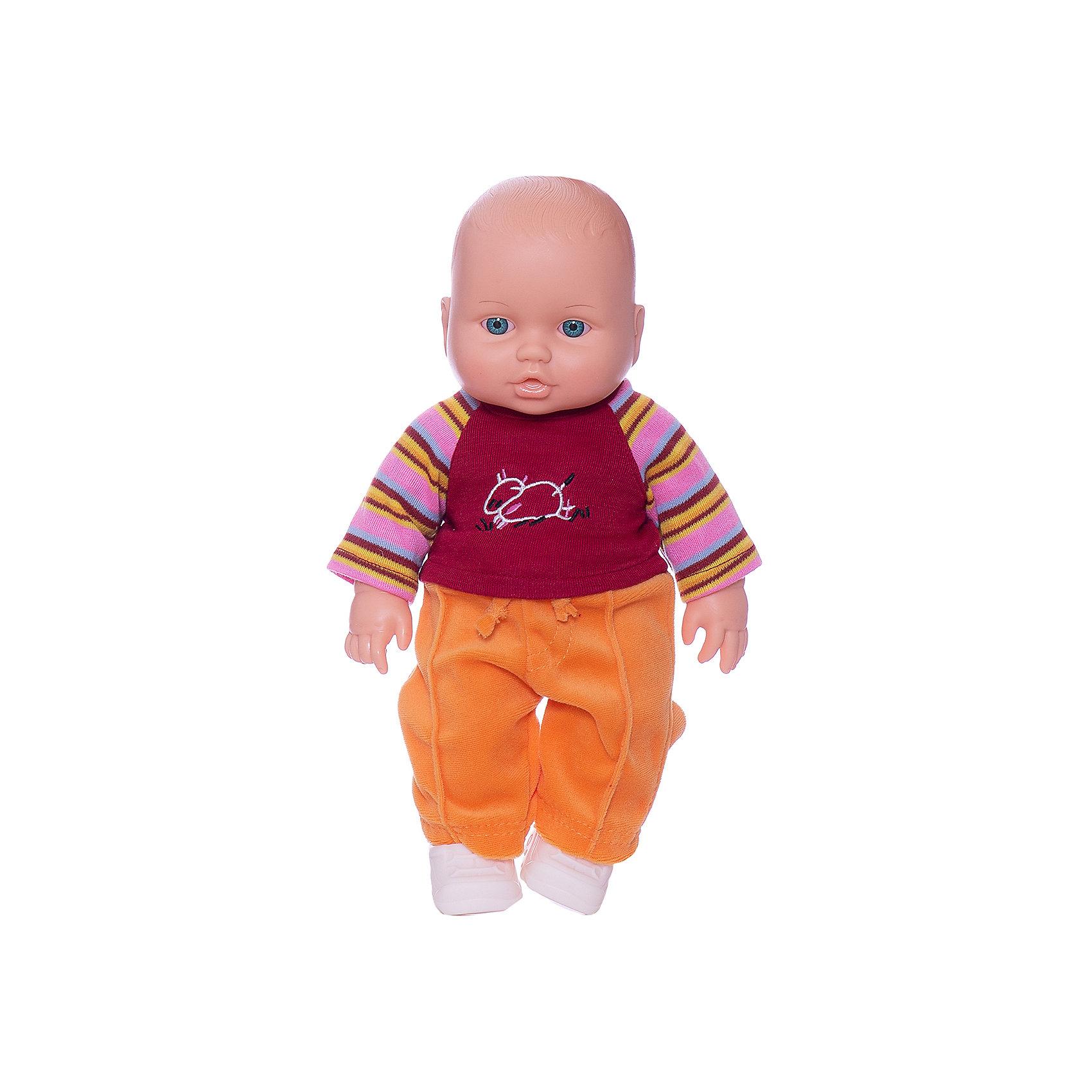 Кукла Малыш 3 (мальчик), 31 см, Весна<br><br>Ширина мм: 170<br>Глубина мм: 100<br>Высота мм: 370<br>Вес г: 460<br>Возраст от месяцев: 36<br>Возраст до месяцев: 144<br>Пол: Женский<br>Возраст: Детский<br>SKU: 4896496