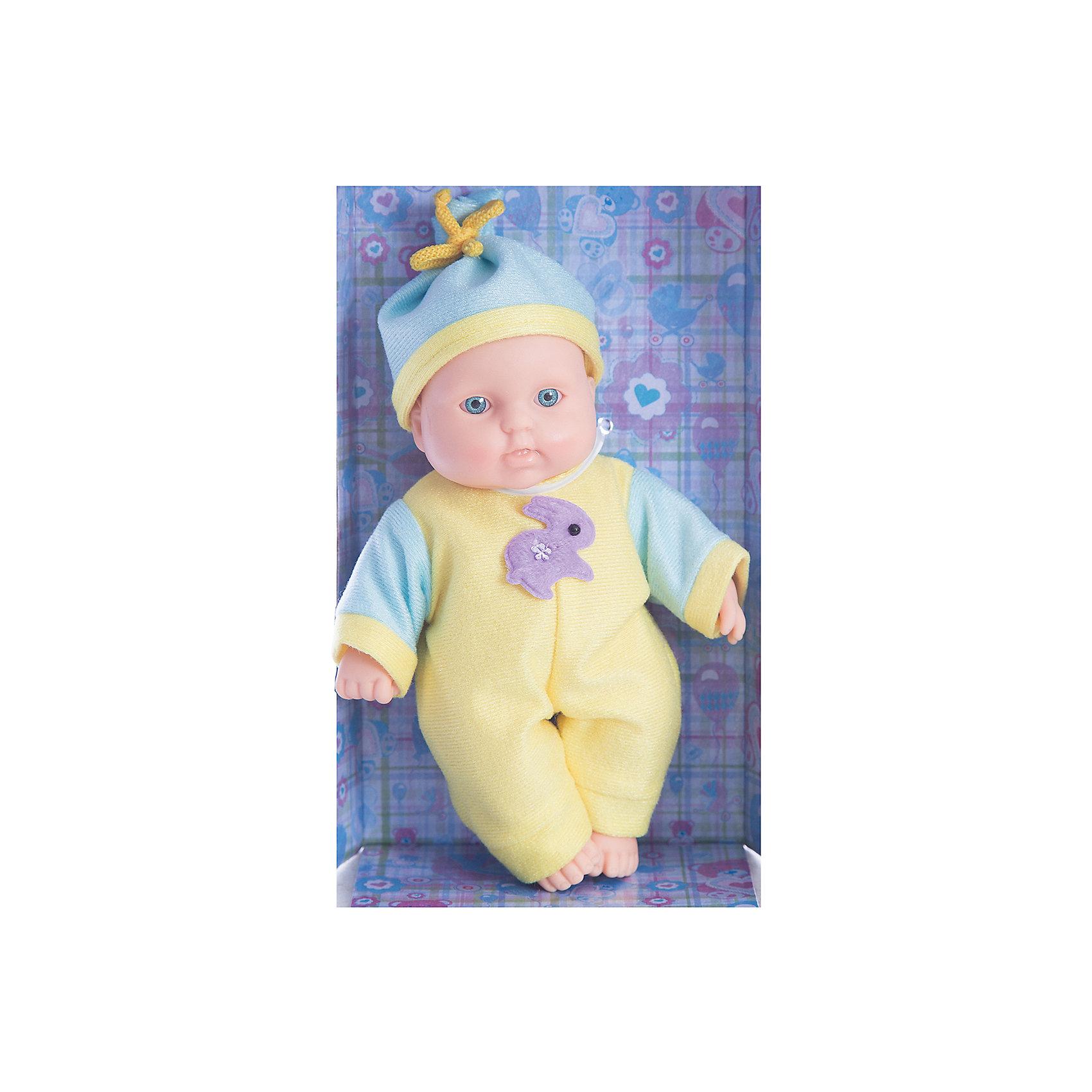 Весна Кукла Карапуз 10 (мальчик), 20 см, Весна карапуз кукла рапунцель со светящимся амулетом 37 см со звуком принцессы дисней карапуз
