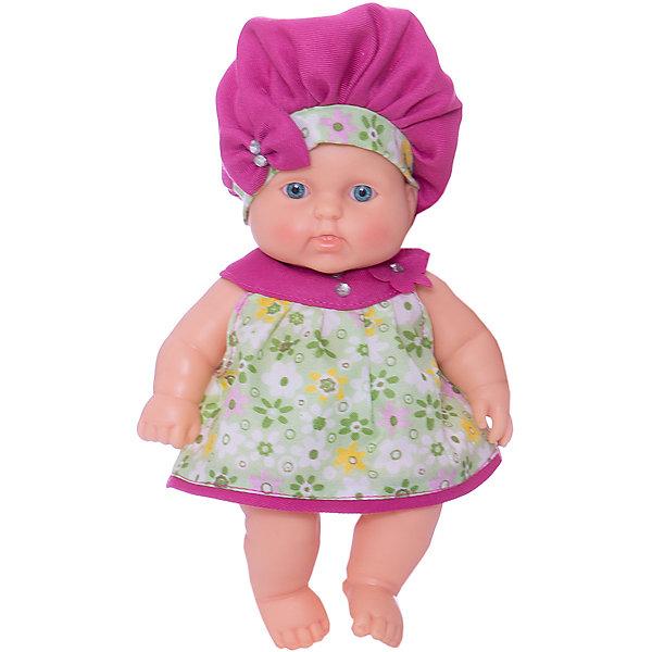 Кукла Карапуз 13 (девочка), 20 см, ВеснаКуклы<br>Характеристики:<br><br>• возраст: от 3 лет;<br>• тип игрушки: пупс;<br>• высота: 20 см;<br>• комплект: кукла, аксессуары;<br>• размер:  7.5x13x24 см;<br>• вес: 200 гр;<br>• материал: винил, пластик, текстиль;<br>• бренд: Весна;<br>• упаковка: картонная коробка блистерного типа;<br>• страна производитель: Россия.<br><br>Кукла Карапуз 13 (девочка) 20 см - симпатичная пухленькая девочка. Дизайн игрушки настолько реалистичен, что учитывает даже анатомическую подробность, указывающую на пол. У куклы симпатичное младенческое личико и пропорциональное виниловое тело. Малышка одета в яркое платьице, которое можно снять. <br><br>Пупс имеет несколько особеннстей: у него поворачивается голова, ручки и ножки. Вместо волос у куклы рельефный виниловый паричок. Куклу можно сажать, укладывать спать, переодевать, купать, так как у нее вставные не закрывающиеся глазки, рельефный кукольный паричок и нет звукового устройства. Тело куклы пропорционально и гармонично, полностью  выполнено из эластичного и приятного на ощупь винила.<br><br>Куклу Карапуз 13 (девочка) 20 см можно купить в нашем интернет-магазине.<br><br>Ширина мм: 200<br>Глубина мм: 150<br>Высота мм: 200<br>Вес г: 490<br>Возраст от месяцев: 36<br>Возраст до месяцев: 144<br>Пол: Женский<br>Возраст: Детский<br>SKU: 4896513
