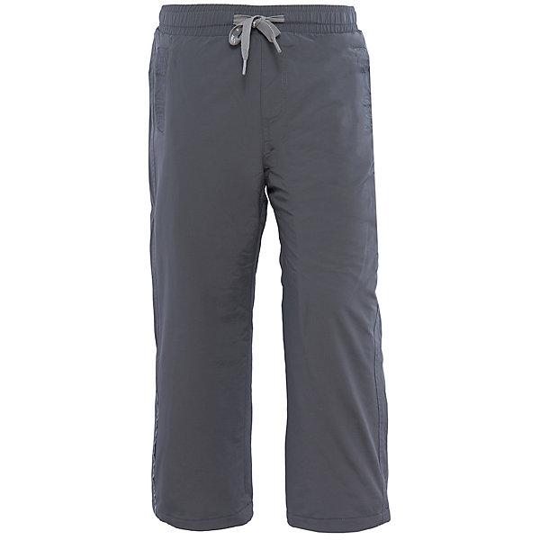 Брюки для мальчика PlayTodayВерхняя одежда<br>Брюки для мальчика от известного бренда PlayToday.<br>Стильные утепленные брюки цвета темный графит. Пояс на резинке, дополнительно регулируется тесьмой. Есть два кармана на липучках. Внутри уютная флисовая подкладка. Низ штанишек утягивается стопперами.<br>Состав:<br>Верх: 100% нейлон, подкладка: 100% полиэстер<br><br>Ширина мм: 215<br>Глубина мм: 88<br>Высота мм: 191<br>Вес г: 336<br>Цвет: серый<br>Возраст от месяцев: 24<br>Возраст до месяцев: 36<br>Пол: Мужской<br>Возраст: Детский<br>Размер: 98,104,122,116,110,128<br>SKU: 4896571