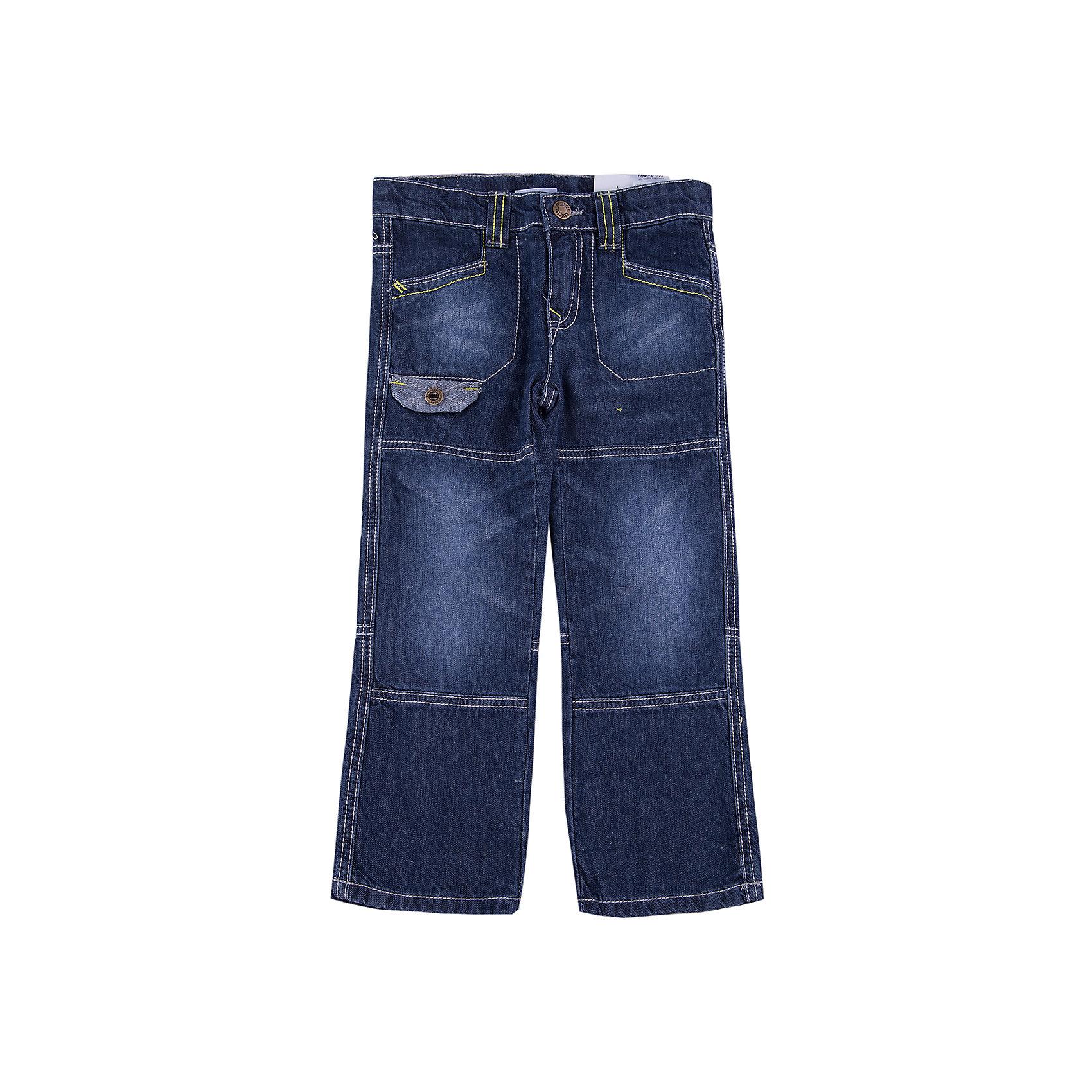Джинсы для мальчика PlayTodayДжинсы для мальчика от известного бренда PlayToday.<br>Стильные джинсы с модными потертостями. Внутри мягкая трикотажная подкладка цвета серый меланж. Есть 4 функциональных кармашка. Отделка карманов выполнена из изнаночной стороны джинсового материала.<br>Состав:<br>Верх: 100% хлопок. Подкладка: 50% хлопок, 50% полиэстер<br><br>Ширина мм: 215<br>Глубина мм: 88<br>Высота мм: 191<br>Вес г: 336<br>Цвет: синий<br>Возраст от месяцев: 72<br>Возраст до месяцев: 84<br>Пол: Мужской<br>Возраст: Детский<br>Размер: 122,116,104,128,110,98<br>SKU: 4896586