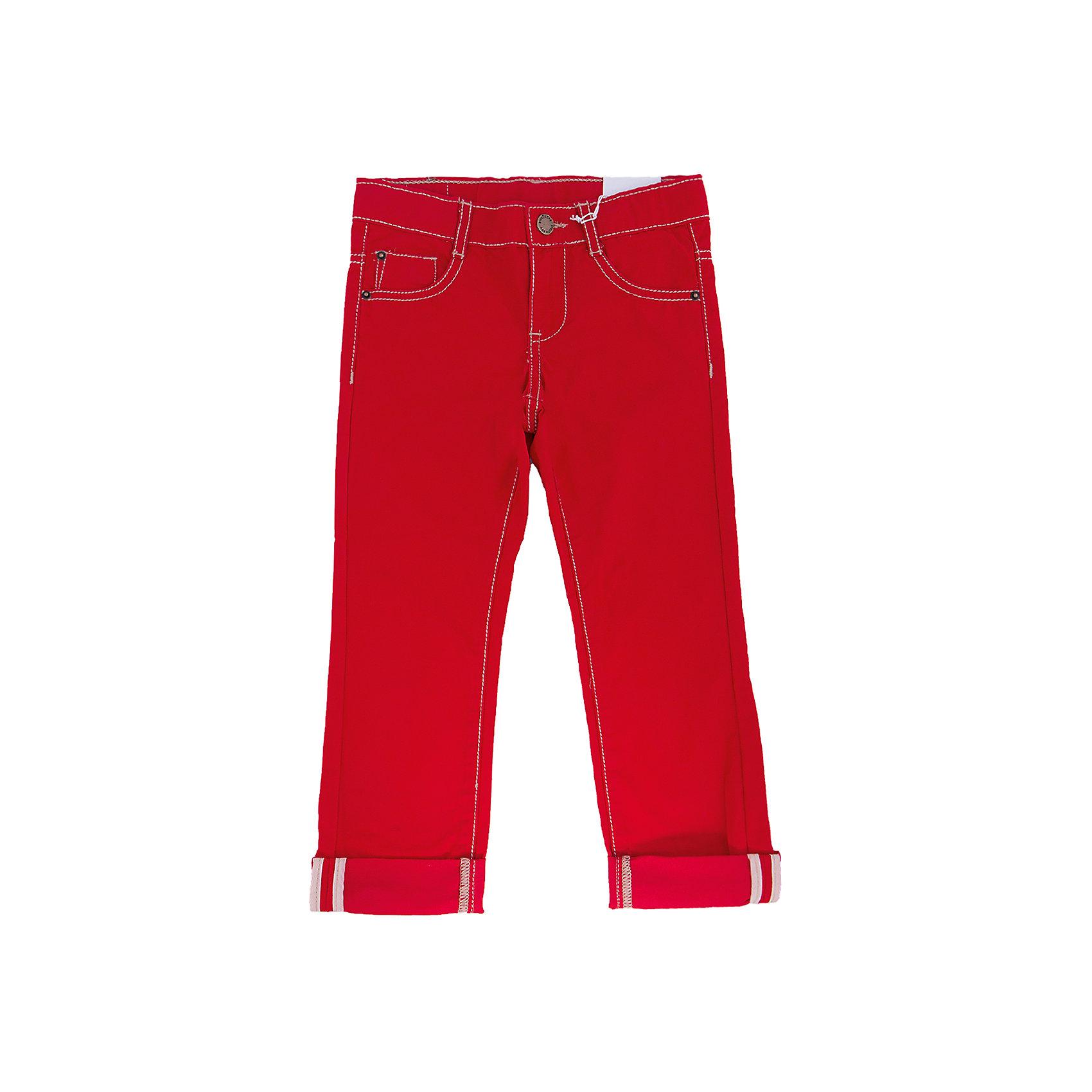 Джинсы для мальчика PlayTodayБрюки<br>Брюки для мальчика от известного бренда PlayToday.<br>Ярко-красные твиловые брюки, классическая пятикарманка. Застегиваются на молнию и кнопку, есть шлевки для ремня. Контрастная бежевая стежка.<br>Состав:<br>100% хлопок<br><br>Ширина мм: 215<br>Глубина мм: 88<br>Высота мм: 191<br>Вес г: 336<br>Цвет: красный<br>Возраст от месяцев: 36<br>Возраст до месяцев: 48<br>Пол: Мужской<br>Возраст: Детский<br>Размер: 104,122,128,110,116,98<br>SKU: 4896607