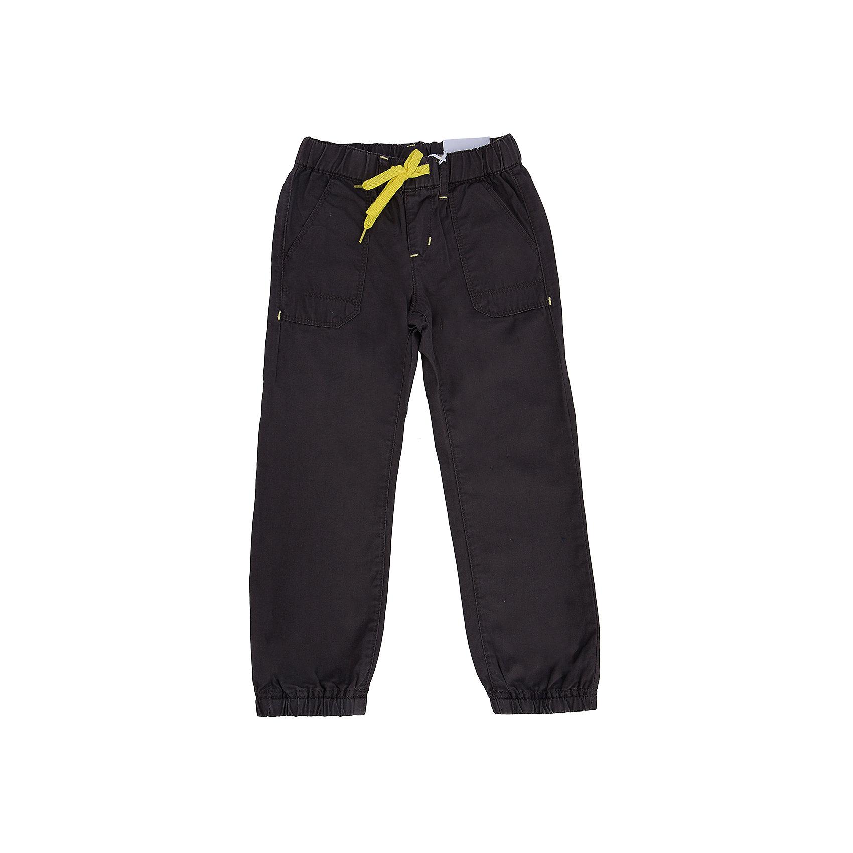 Брюки для мальчика PlayTodayБрюки для мальчика от известного бренда PlayToday.<br>Стильные твиловые брюки шоколадного цвета. Пояс на резинке, дополнительно регулируется яркой тесьмой. Есть шлевки для ремня и 4 функциональных кармана. Низ штанишек на резинке.<br>Состав:<br>100% хлопок<br><br>Ширина мм: 215<br>Глубина мм: 88<br>Высота мм: 191<br>Вес г: 336<br>Цвет: коричневый<br>Возраст от месяцев: 36<br>Возраст до месяцев: 48<br>Пол: Мужской<br>Возраст: Детский<br>Размер: 104,122,128,110,116,98<br>SKU: 4896614