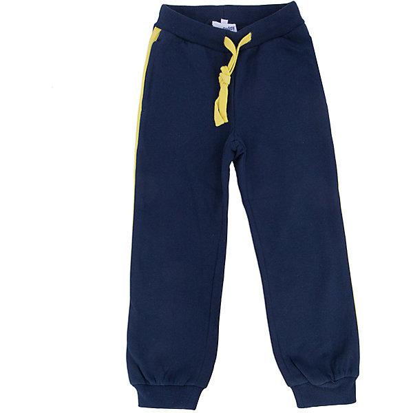 Брюки для мальчика PlayTodayБрюки<br>Брюки для мальчика от известного бренда PlayToday.<br>Уютные спортивные брюки из футера с начесом. По бокам яркие лампасы и два функциональных кармана. Пояс на резинке, дополнительно регулируется шнурком. Низ штанишек на мягкой трикотажной резинке.<br>Состав:<br>80% хлопок, 20% полиэстер<br><br>Ширина мм: 215<br>Глубина мм: 88<br>Высота мм: 191<br>Вес г: 336<br>Цвет: белый<br>Возраст от месяцев: 60<br>Возраст до месяцев: 72<br>Пол: Мужской<br>Возраст: Детский<br>Размер: 116,104,122,98,110,128<br>SKU: 4896628