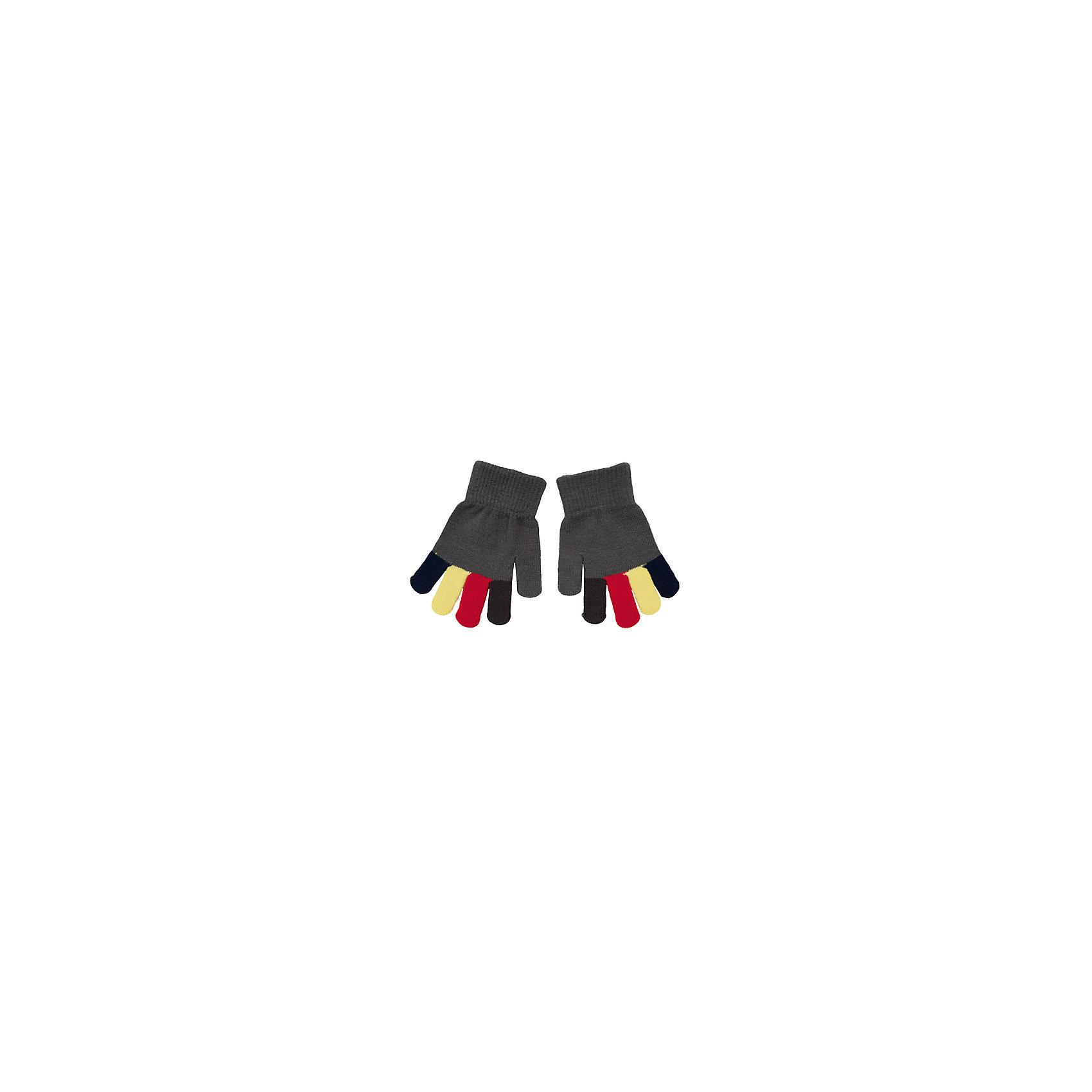 Перчатки для мальчика PlayTodayПерчатки, варежки<br>Перчатки для мальчика от известного бренда PlayToday.<br>Уютные перчатки поднимут настроение в холодную погоду. Все пальчики разных цветов в основной гамме коллекции. Верх на мягкой резинке.<br>Состав:<br>100% акрил<br><br>Ширина мм: 162<br>Глубина мм: 171<br>Высота мм: 55<br>Вес г: 119<br>Цвет: разноцветный<br>Возраст от месяцев: 72<br>Возраст до месяцев: 96<br>Пол: Мужской<br>Возраст: Детский<br>Размер: 15,13,14<br>SKU: 4896697